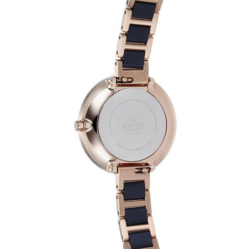 Obaku Denmark V195LXVISL damski zegarek Slim bransoleta