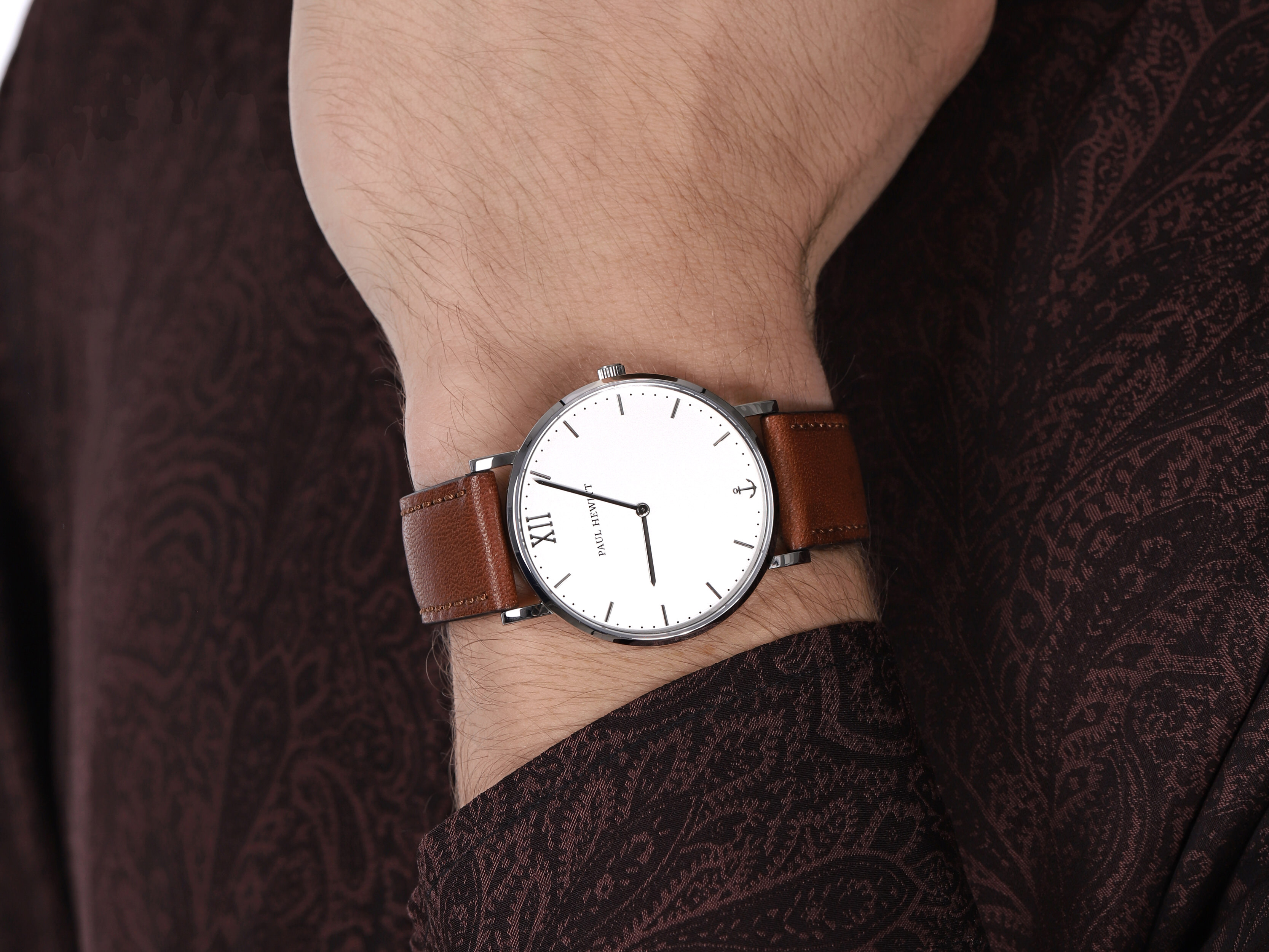 zegarek Paul Hewitt PH-SA-S-ST-W-1M kwarcowy męski Sailor Line