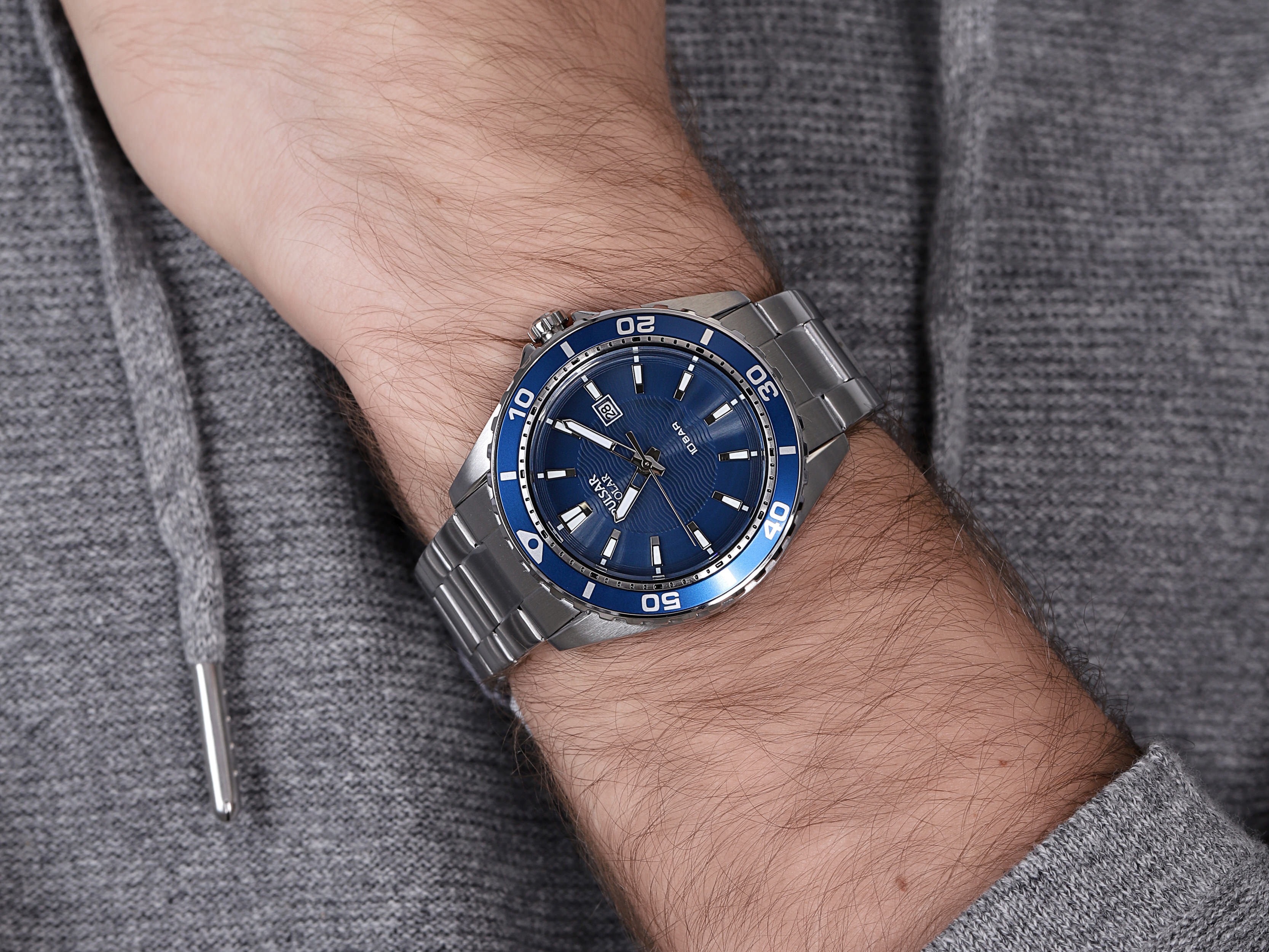 zegarek Pulsar PX3237X1 solar męski Klasyczne