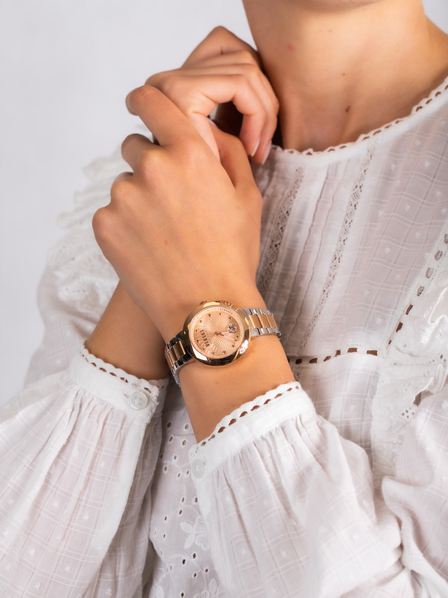 Versus Versace VSP370617 damski zegarek Damskie bransoleta