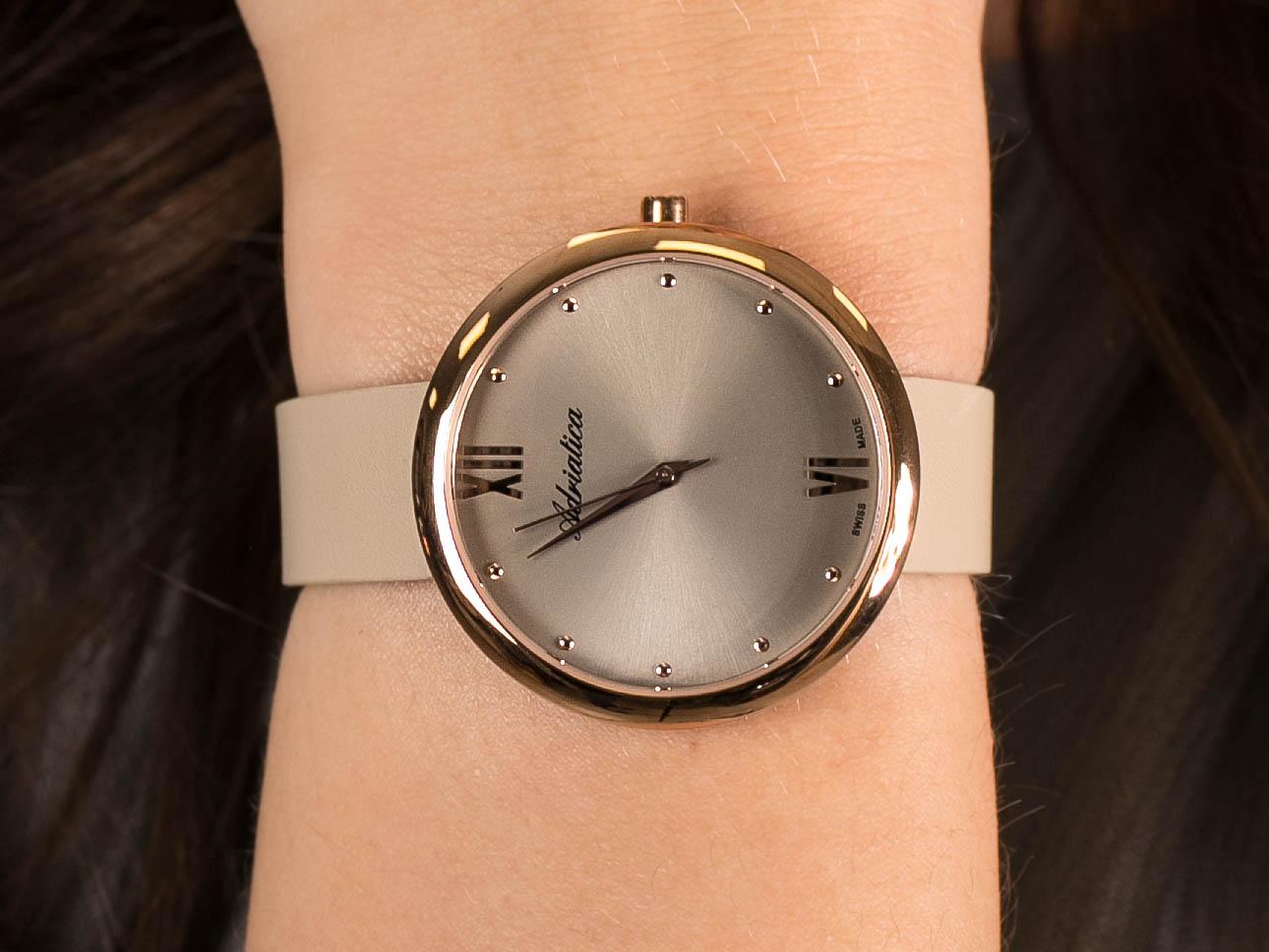 Adriatica A3632.RG87Q zegarek klasyczny Pasek