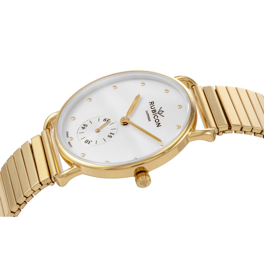 Rubicon RNBE29GISX03BX zegarek złoty klasyczny Bransoleta bransoleta