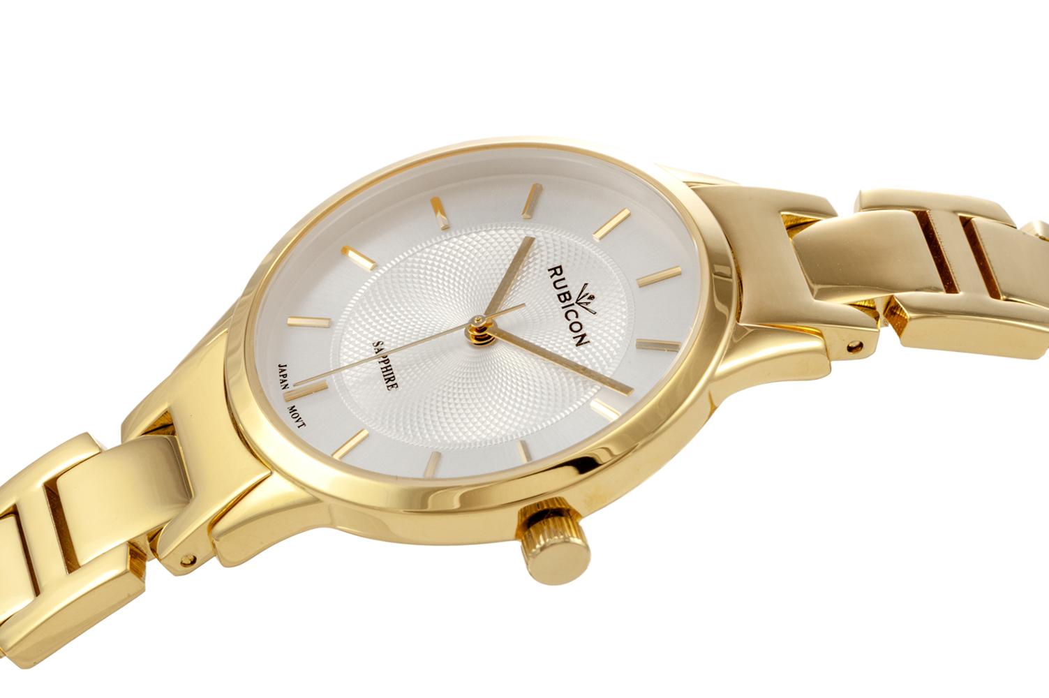 Rubicon RNBE32GISX03BX damski zegarek Bransoleta bransoleta