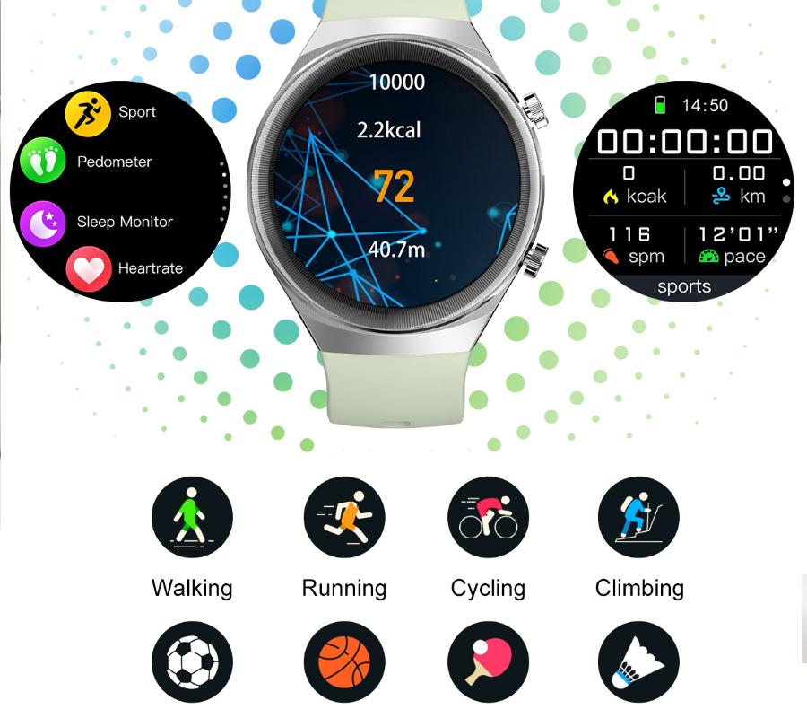 zegarek SMARUB065 czarny Smartwatch