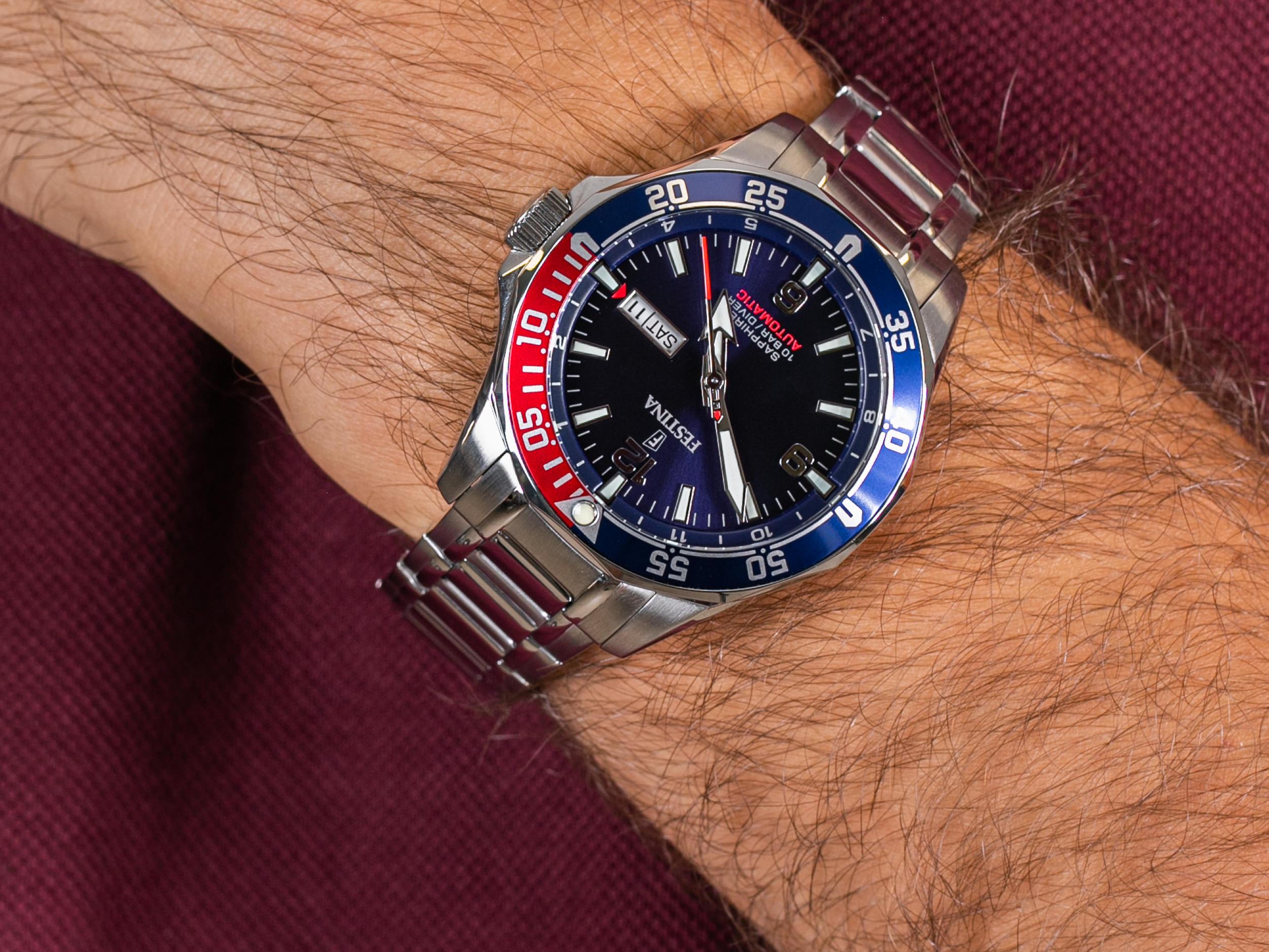 Festina F20478-2 Diver Sapphire Automatic zegarek sportowy Sport