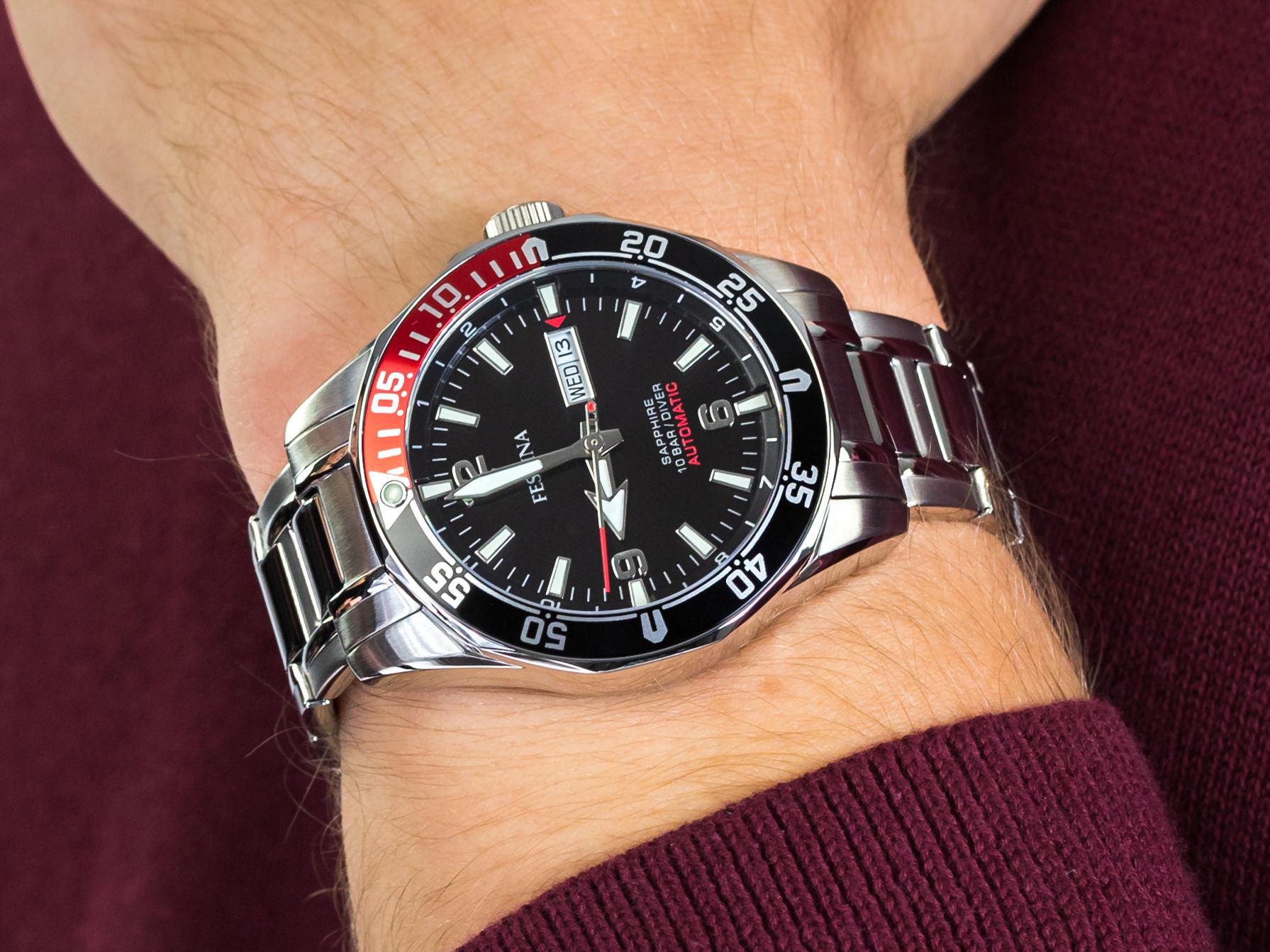 Festina F20478-5 Diver Sapphire Automatic zegarek sportowy Sport