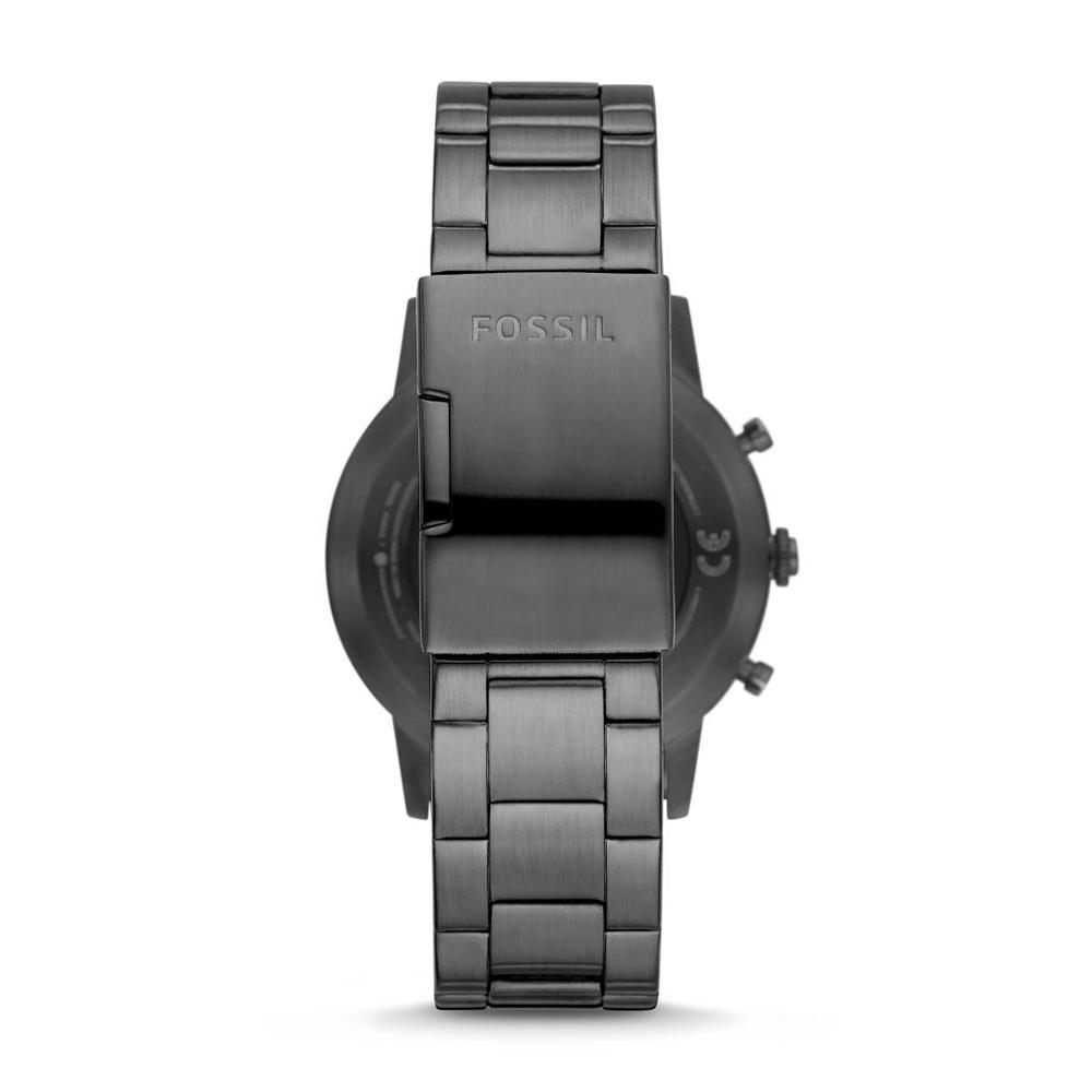 Fossil FTW7009  Hybrid Smartwatch HR Collider Smoke Stainless Steel zegarek sportowy Hybrid Smartwatch