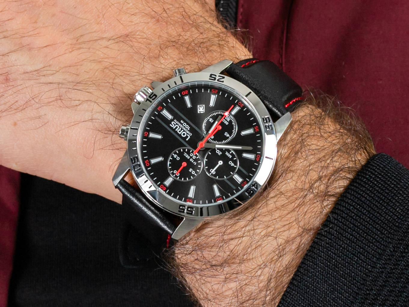 Lorus RM313FX9 zegarek sportowy Klasyczne