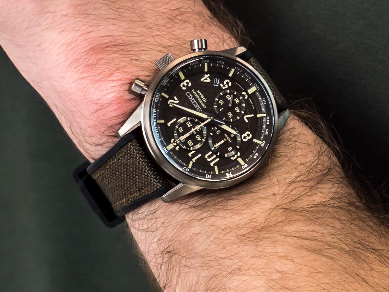 Seiko SSB371P1 zegarek sportowy Chronograph