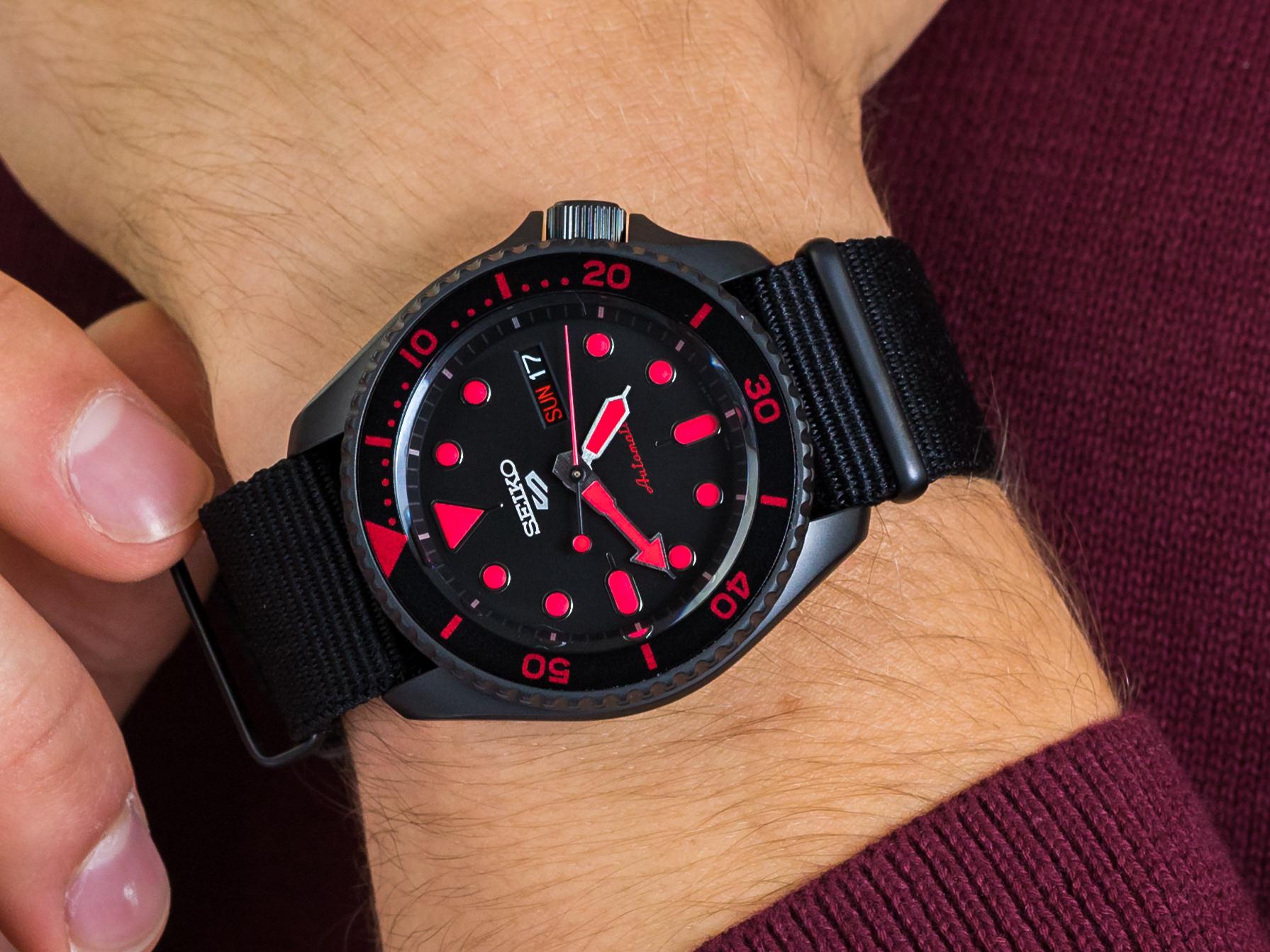 Seiko SRPD83K1 5 Sports Automatic zegarek sportowy Sports Automat