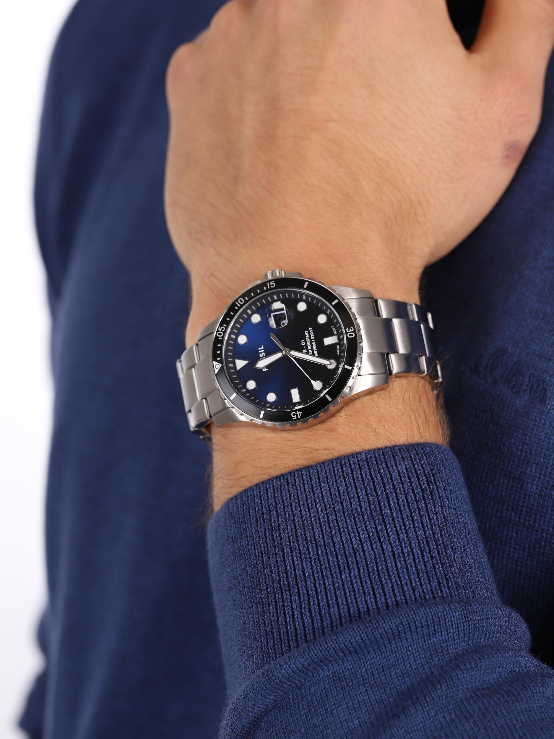 Fossil FS5668 męski zegarek FB-01 bransoleta