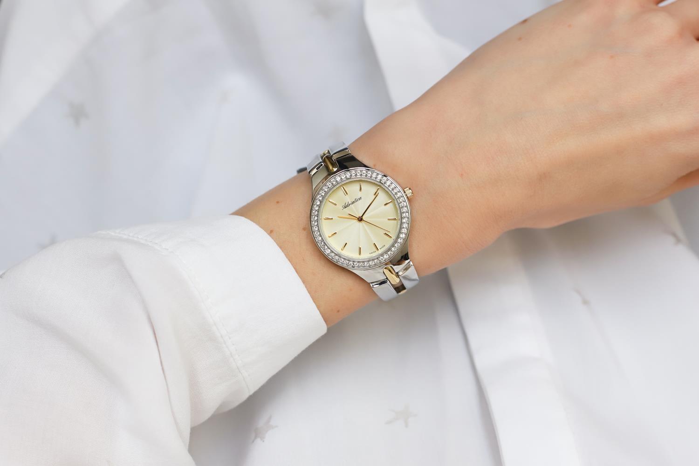 Adriatica A3418.2111QZ zegarek srebrny klasyczny Bransoleta bransoleta