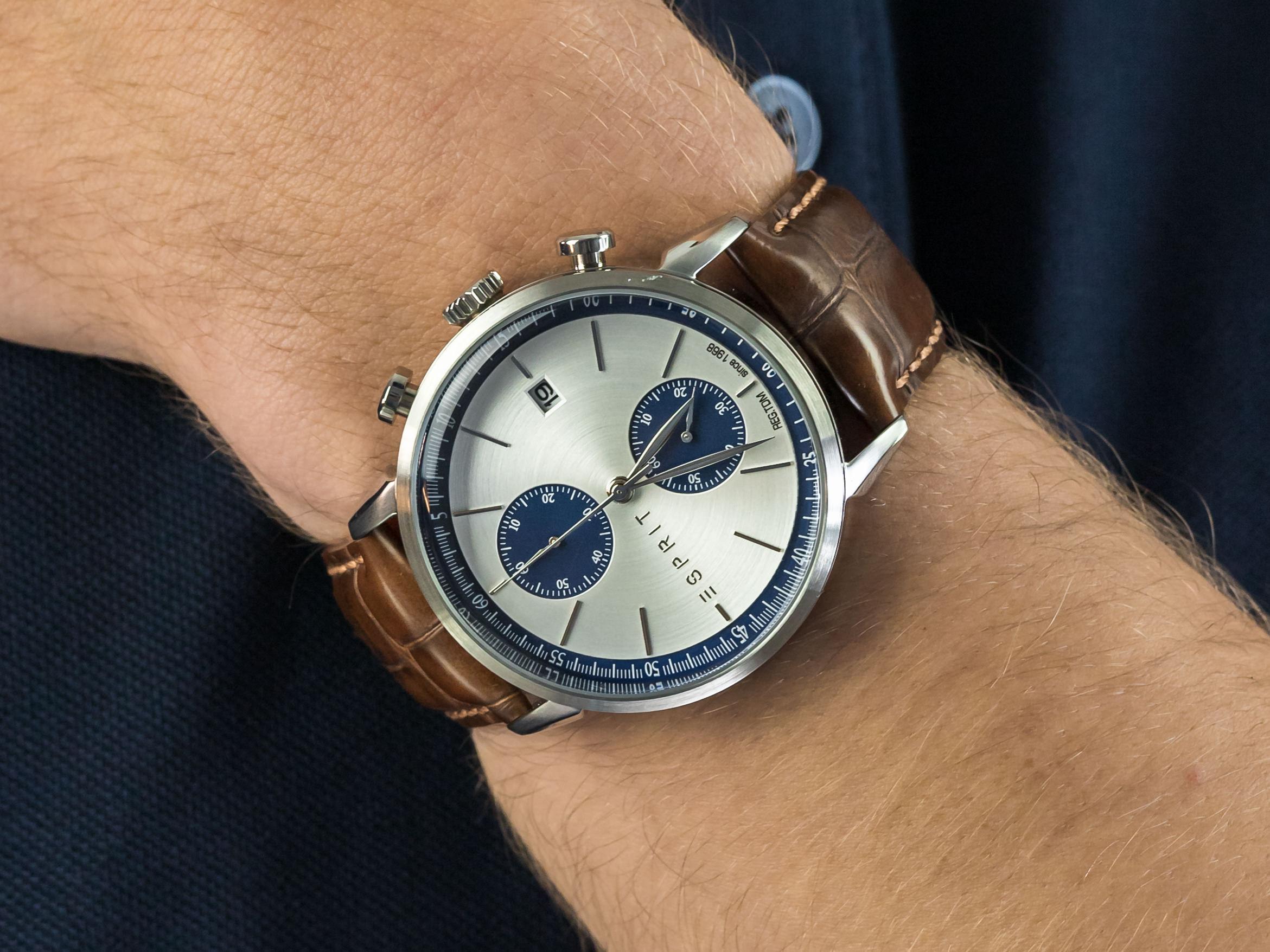 Esprit ES109181001 zegarek klasyczny Męskie