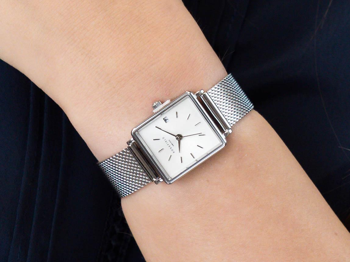 Rosefield QMWMS-Q038 Boxy zegarek klasyczny Boxy