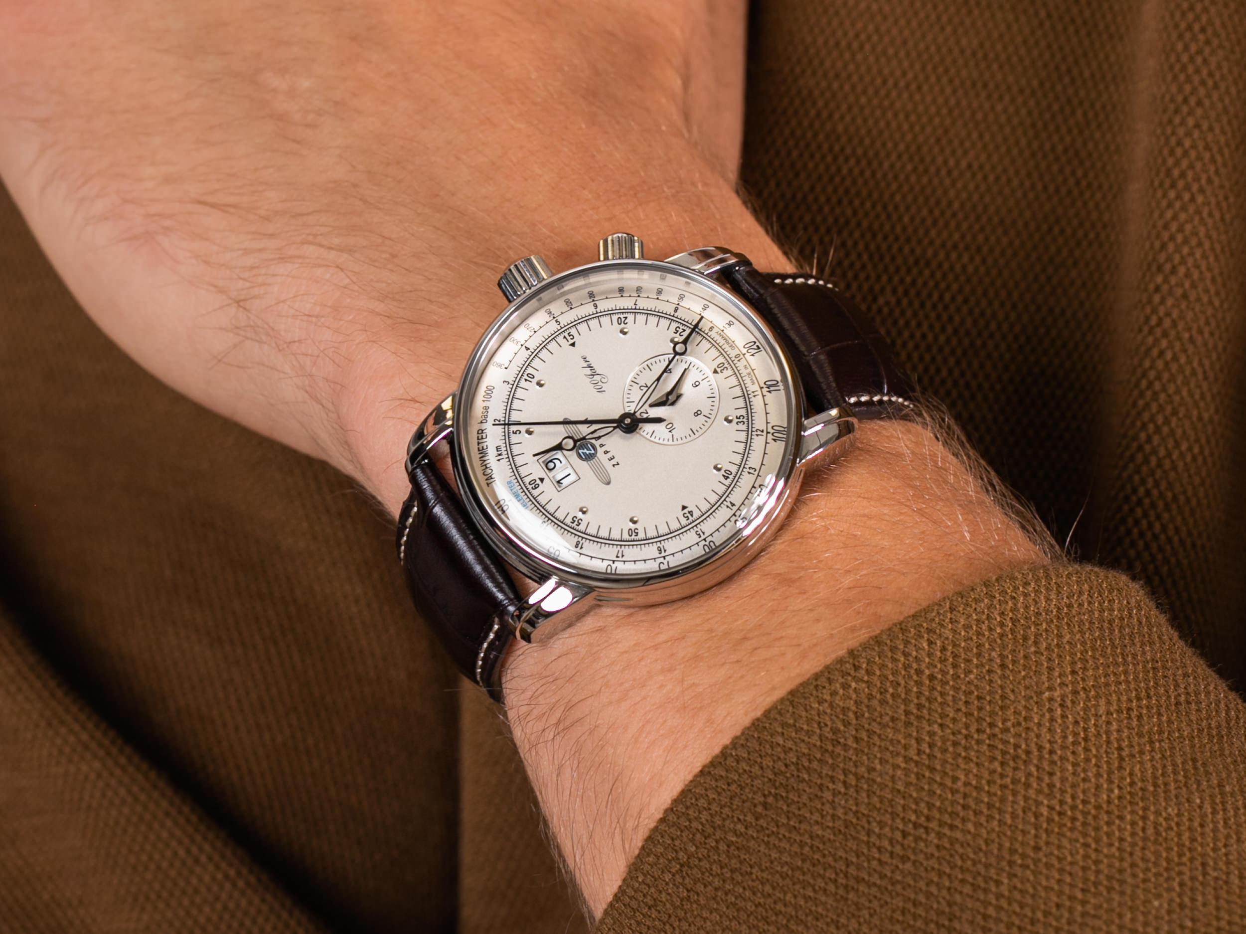 Zeppelin 7640-1 100 Years Zeppelin Quarz zegarek klasyczny 100 Years Zeppelin Ed 1