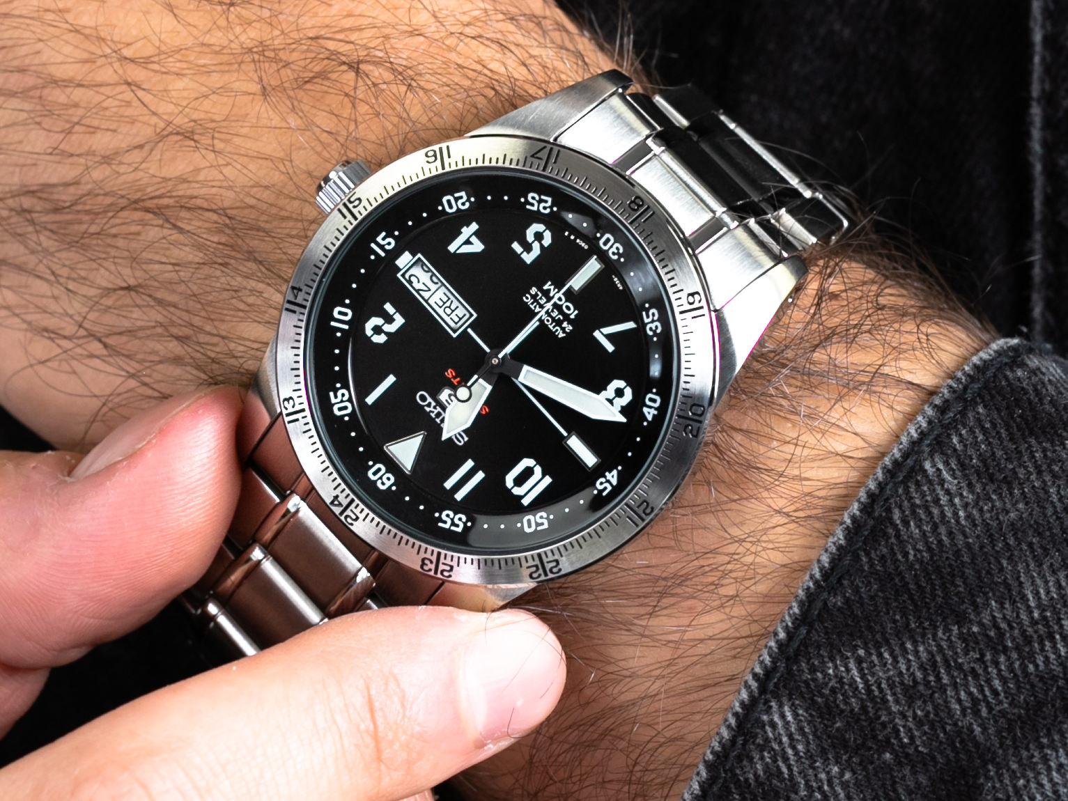 Seiko SRP513K1 5 Sports Automatic 100m zegarek sportowy Sports Automat