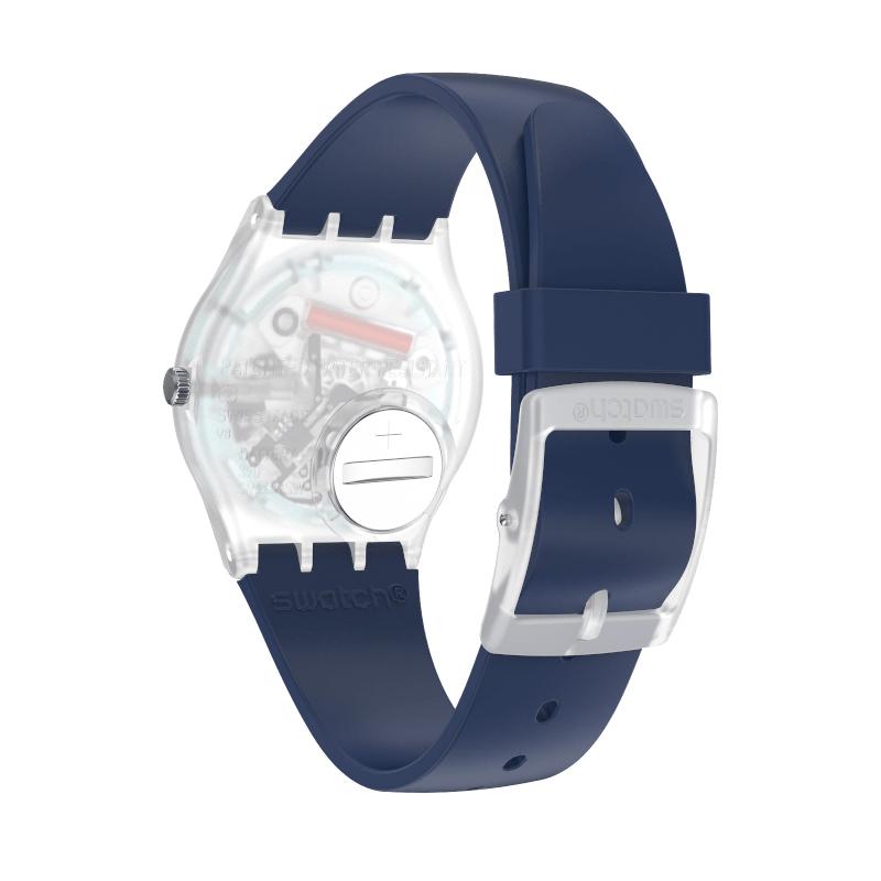 zegarek Swatch GE725 kwarcowy damski Originals RINSE REPEAT NAVY