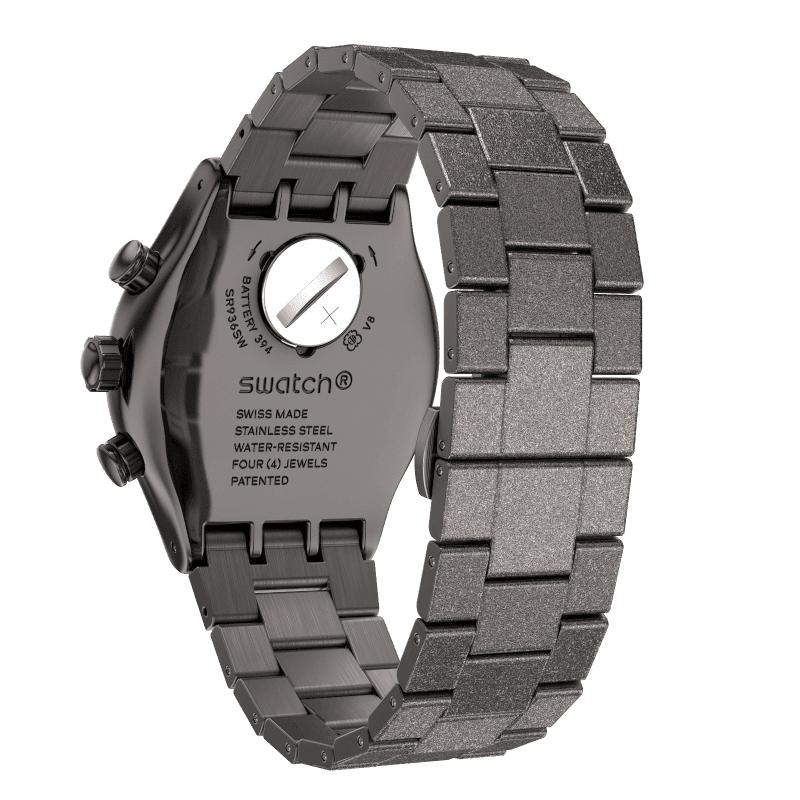zegarek Swatch YVM405G IRONY BLACKSHINY męski z chronograf Irony
