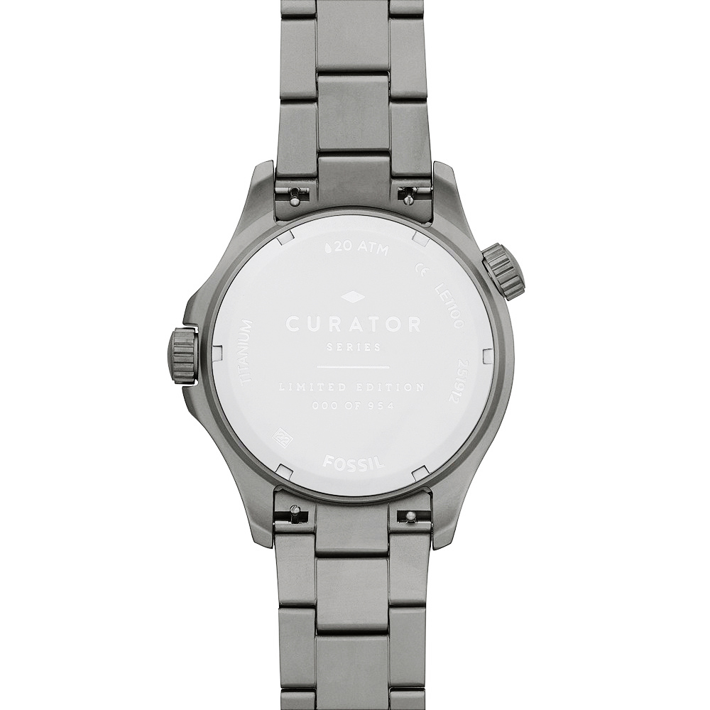 zegarek Fossil LE1100 kwarcowy męski FB-GMT FB-GMT Dual Time Limited Edition