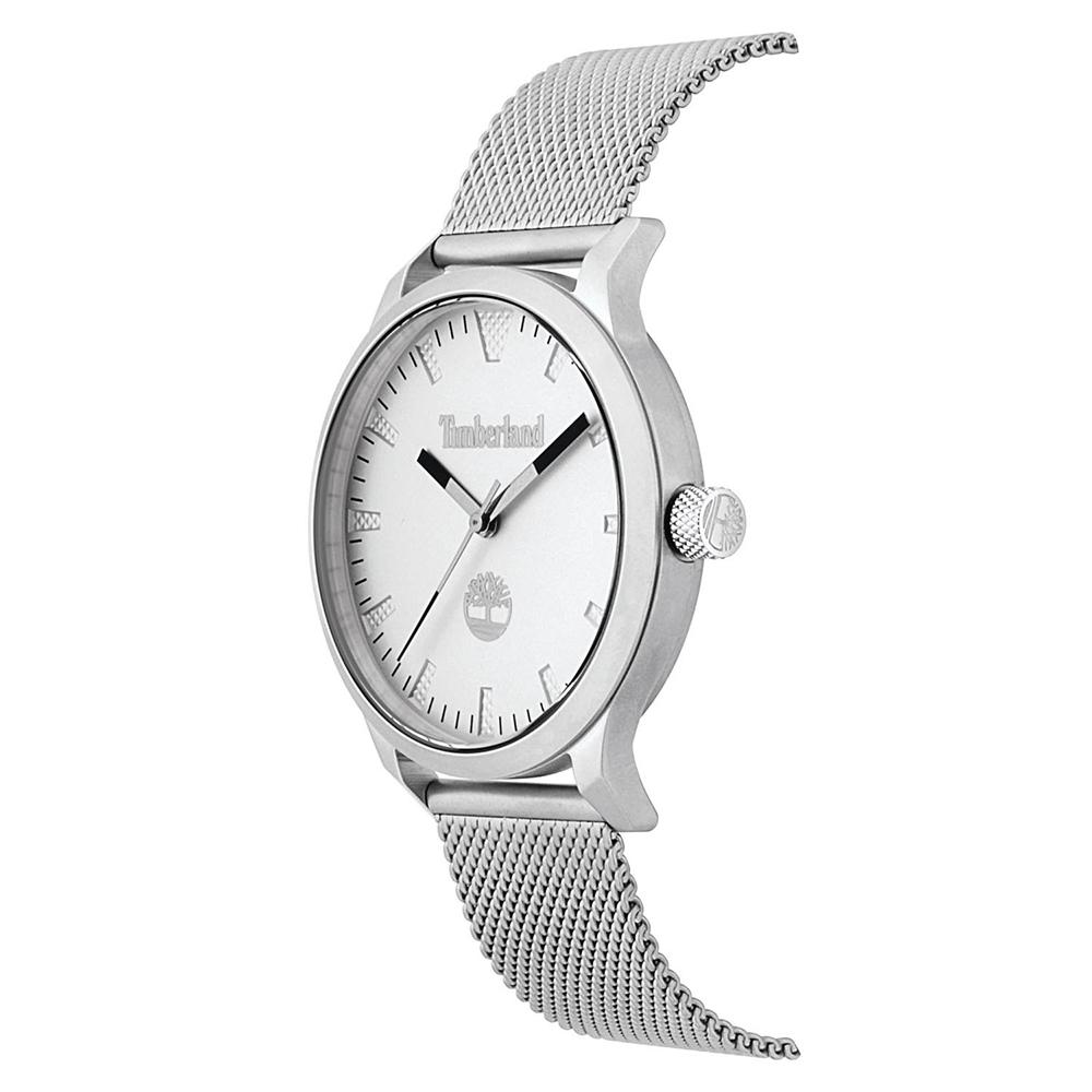 Timberland TBL.15420JS-04MM zegarek srebrny klasyczny Williamsville bransoleta