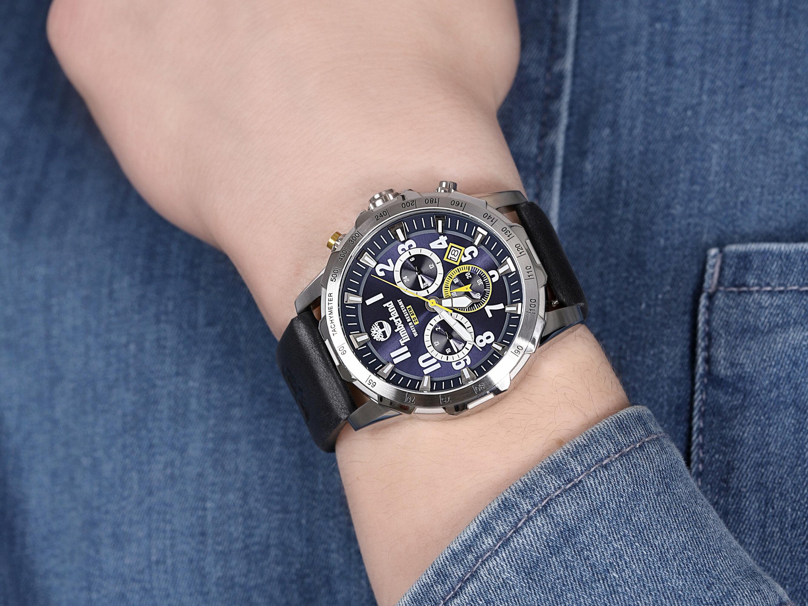 zegarek Timberland TBL.15547JS-03AS WESTFORD męski z tachometr Westford