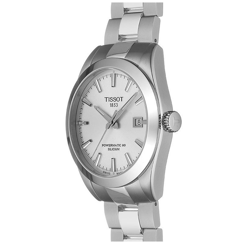 Tissot T127.407.11.031.00 GENTLEMAN POWERMATIC 80 SILICIUM zegarek klasyczny Gentleman