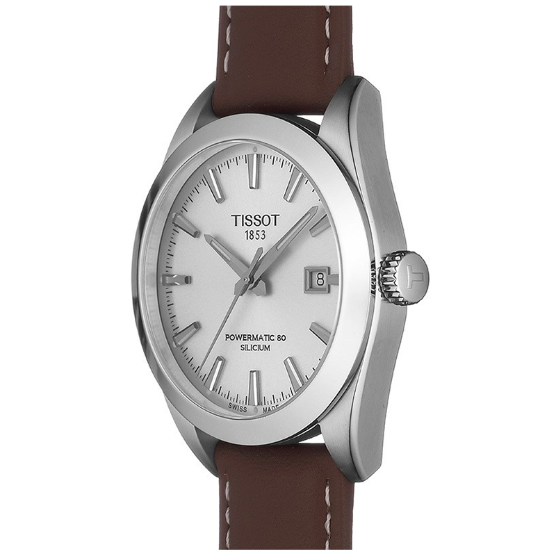 Tissot T127.407.16.031.00 GENTLEMAN POWERMATIC 80 SILICIUM zegarek klasyczny Gentleman