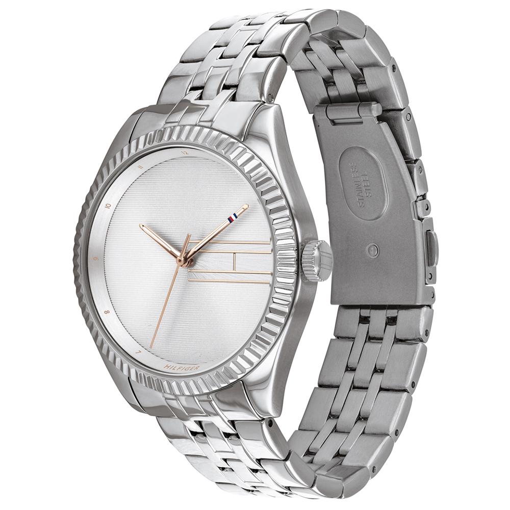 Tommy Hilfiger 1782080 zegarek srebrny klasyczny Damskie bransoleta