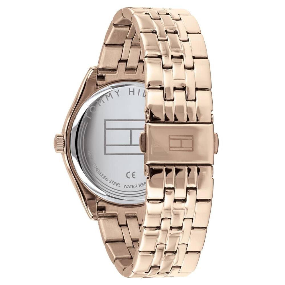 Tommy Hilfiger 1782082 zegarek różowe złoto klasyczny Damskie bransoleta