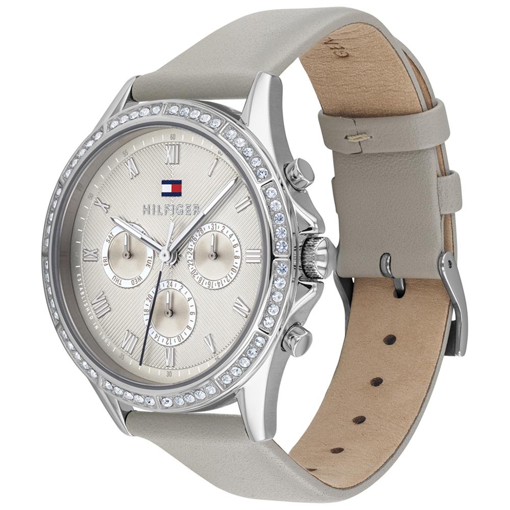 Tommy Hilfiger 1782139 zegarek srebrny fashion/modowy Damskie pasek