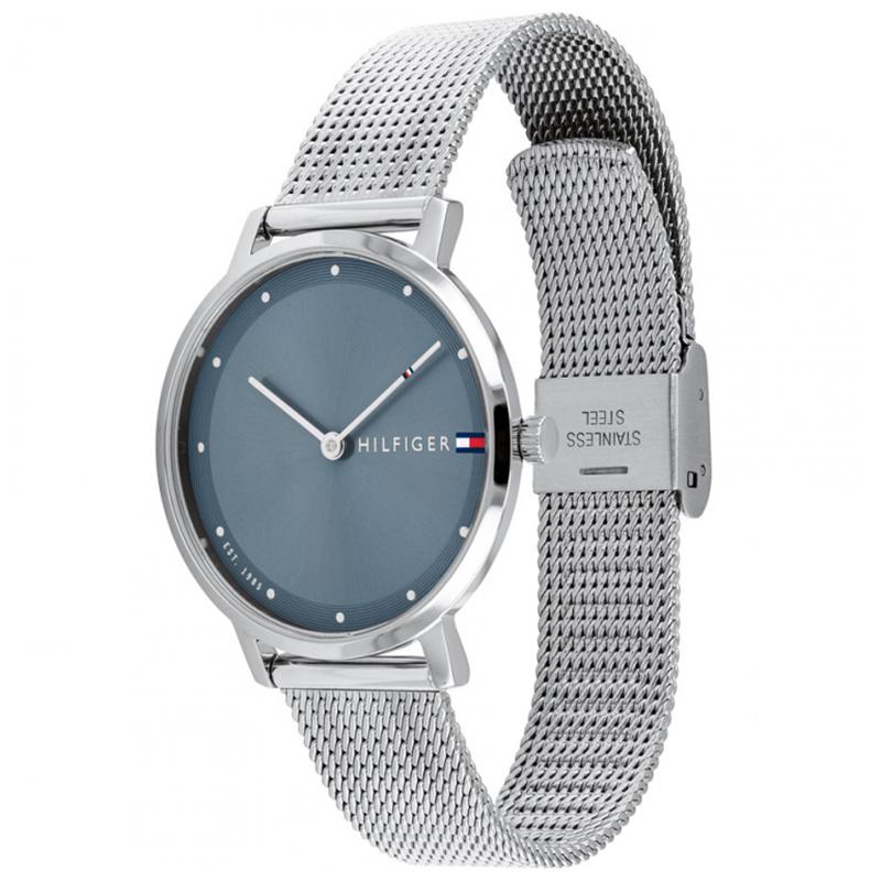 Tommy Hilfiger 1782149 zegarek srebrny klasyczny Damskie bransoleta