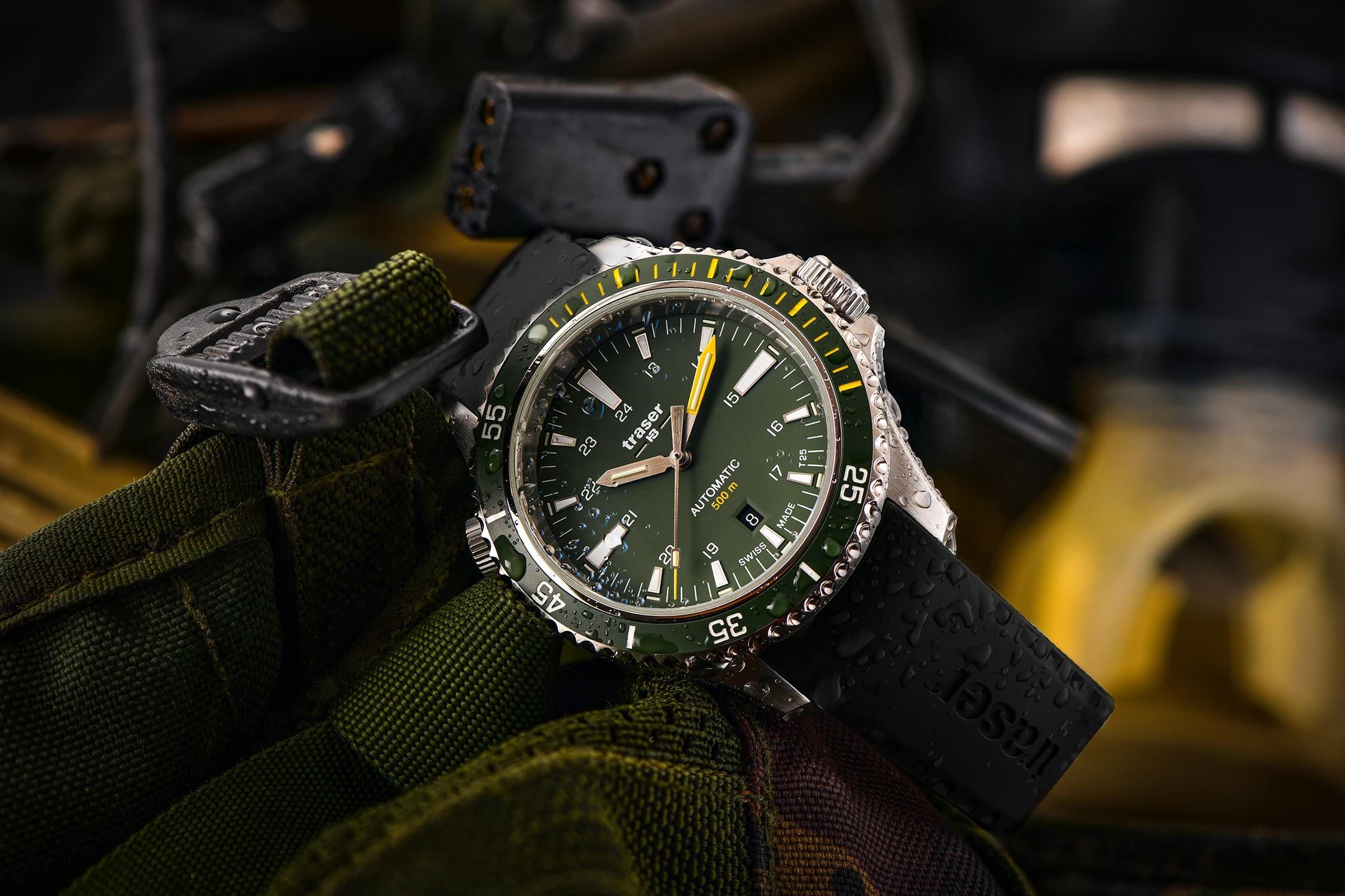 zegarek TS-110326 srebrny P67 SuperSub