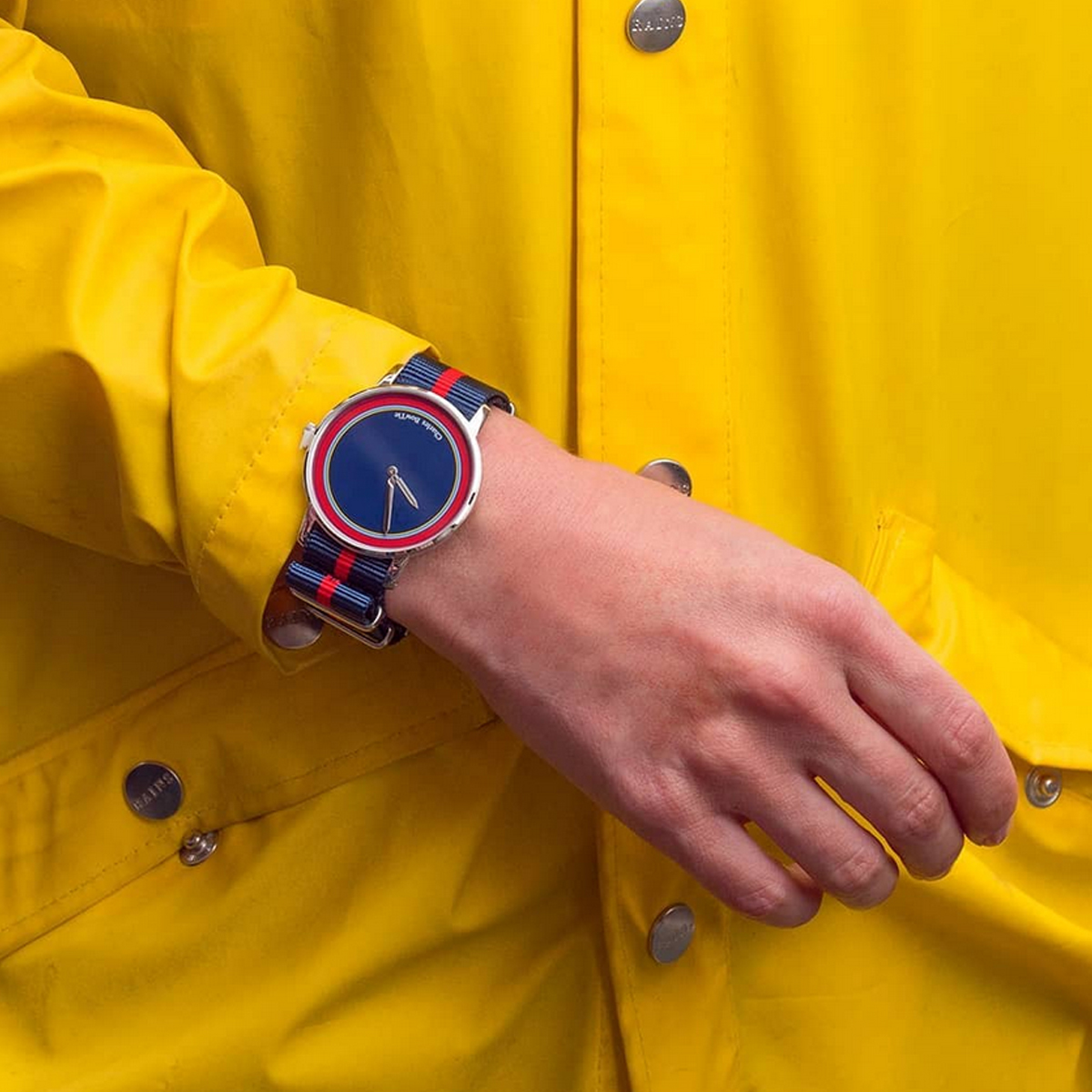 Charles BowTie KELSA.N.B Roundel Collection KENLEY zegarek męski klasyczny mineralne