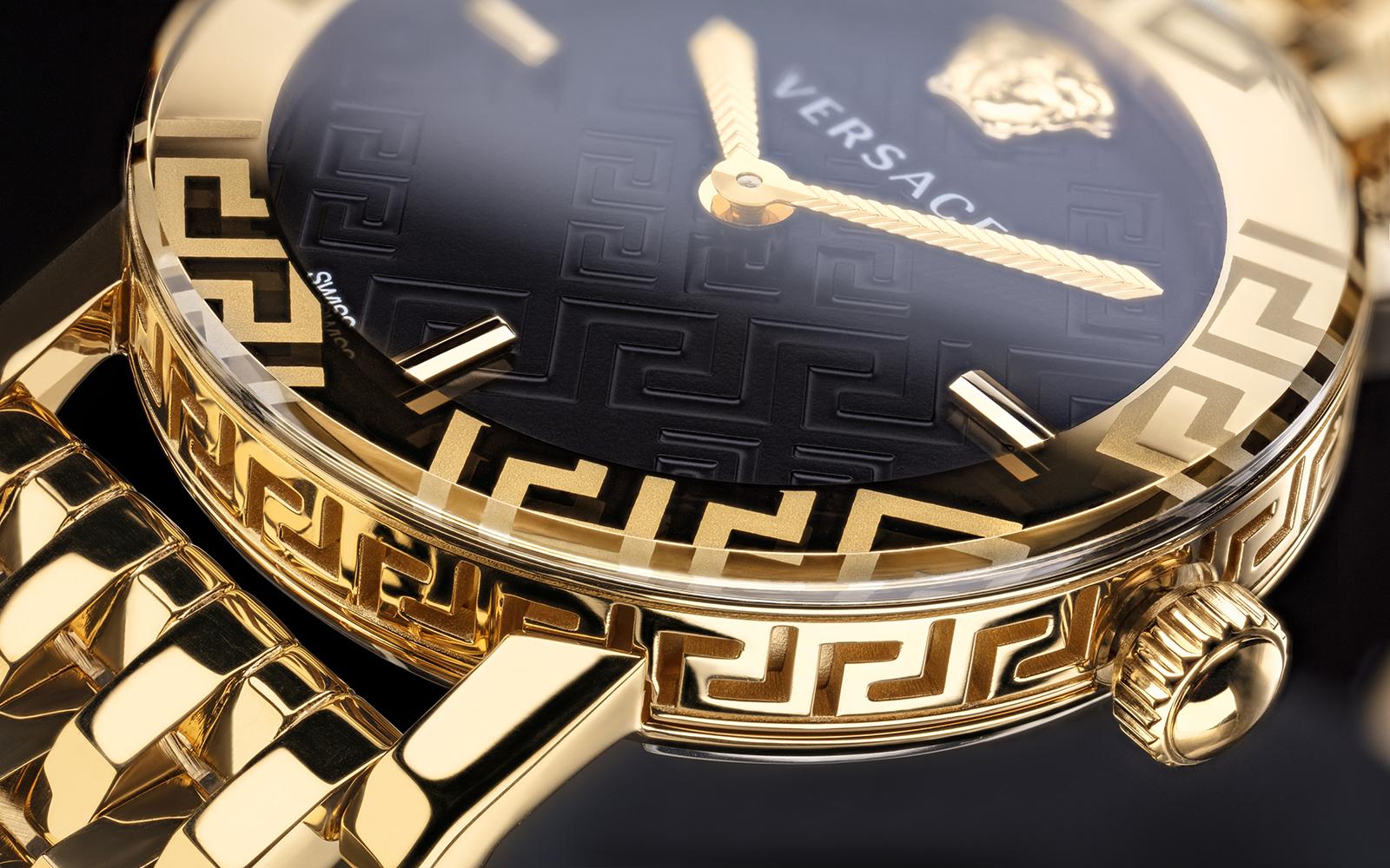 zegarek Versace VEU300621 kwarcowy damski GRECA