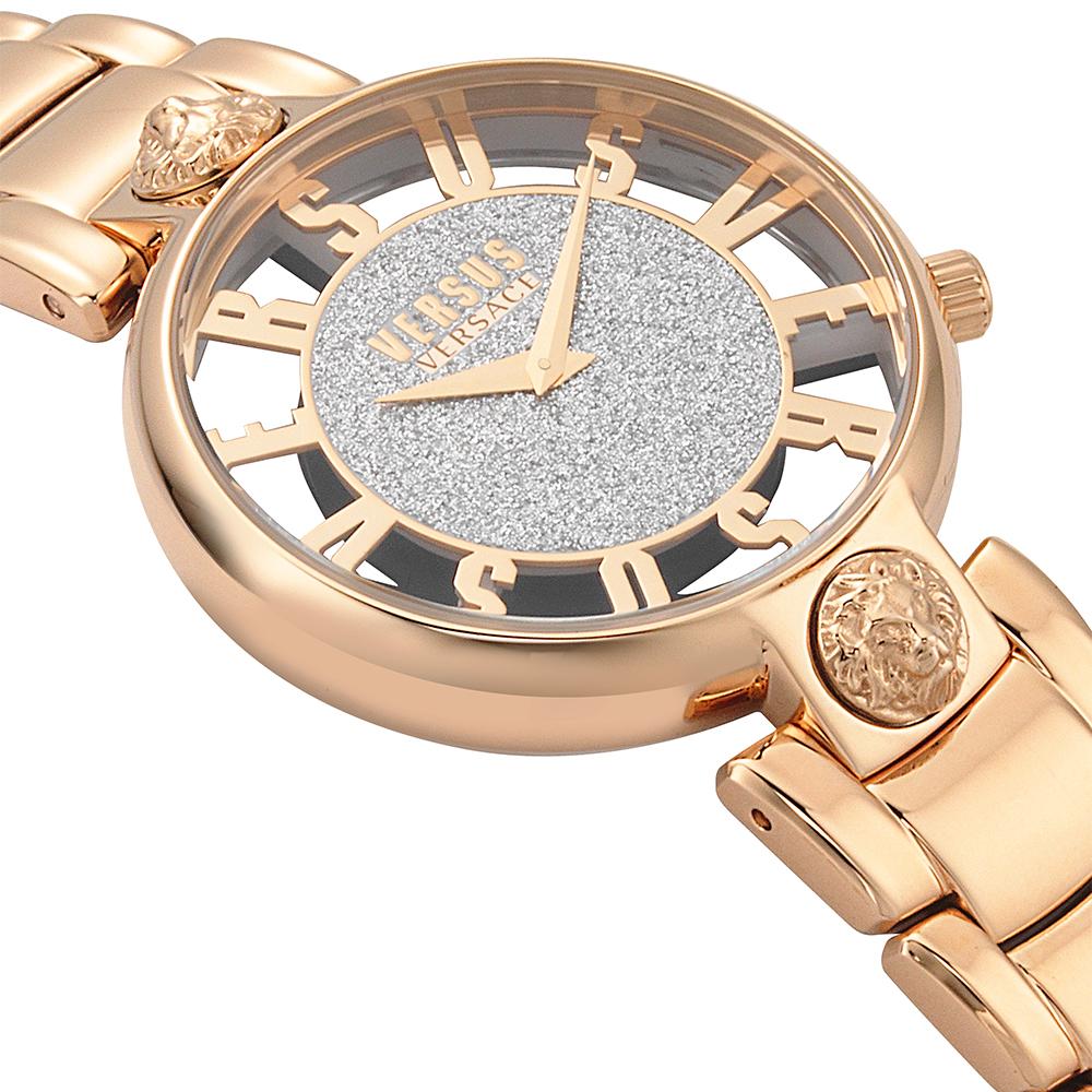 Versus Versace VSP491519 zegarek różowe złoto fashion/modowy Damskie bransoleta