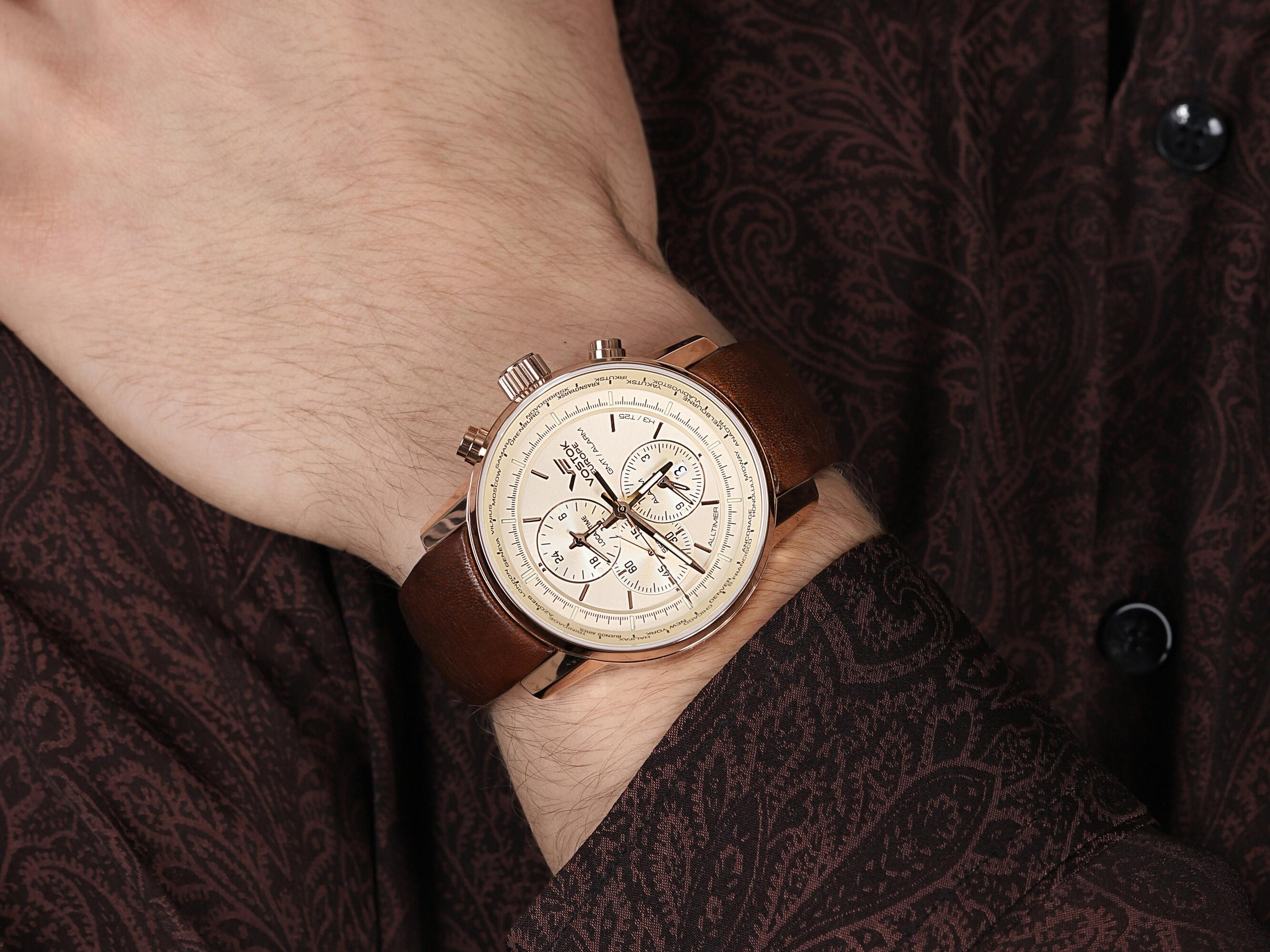 zegarek Vostok Europe YM26-565B294 Limousine Chrono męski z chronograf Limousine