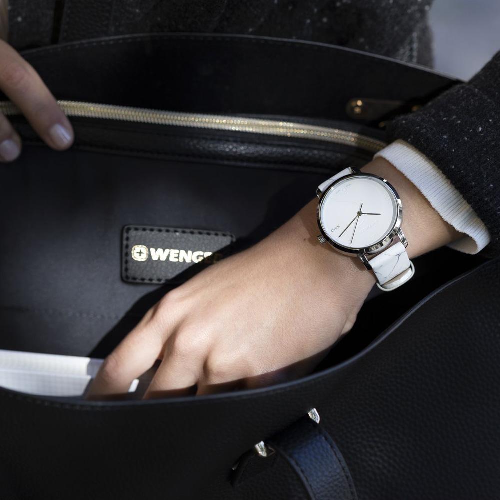 Wenger 01.1731.109 damski zegarek Metropolitan pasek