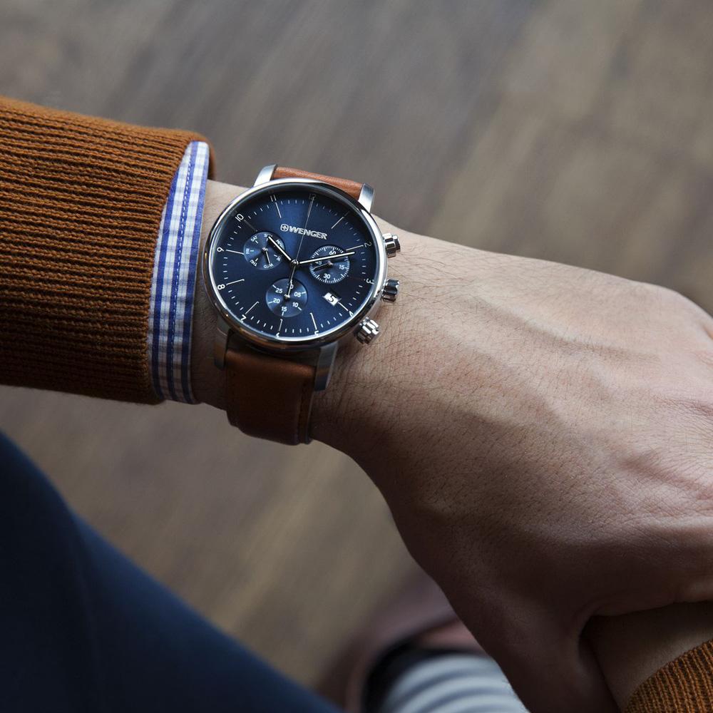 Wenger 01.1743.104 zegarek męski Urban