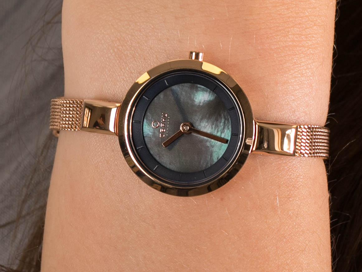 Obaku Denmark V129LVLMV zegarek fashion/modowy Slim