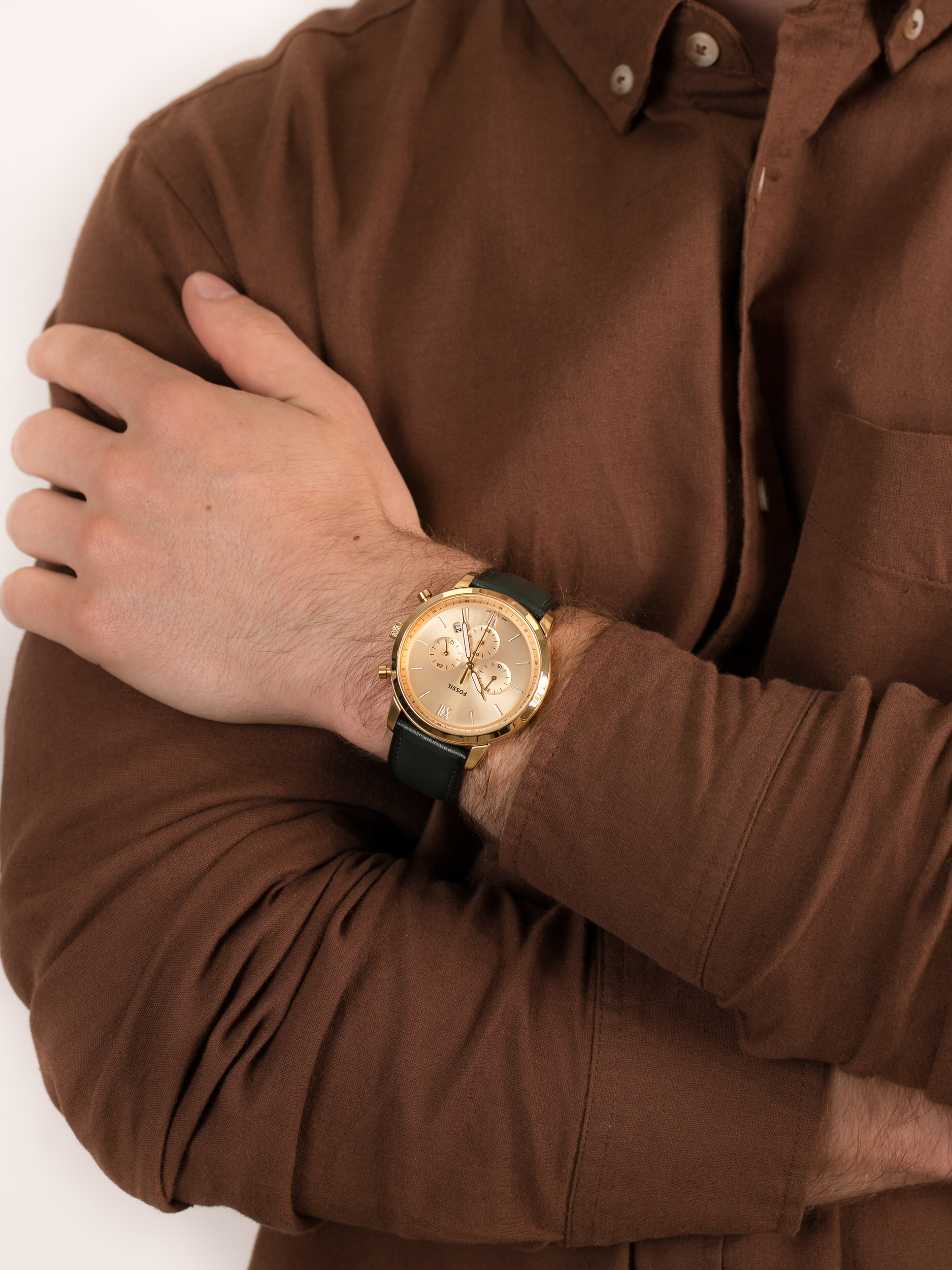 zegarek Fossil FS5580 NEUTRA męski z chronograf Neutra