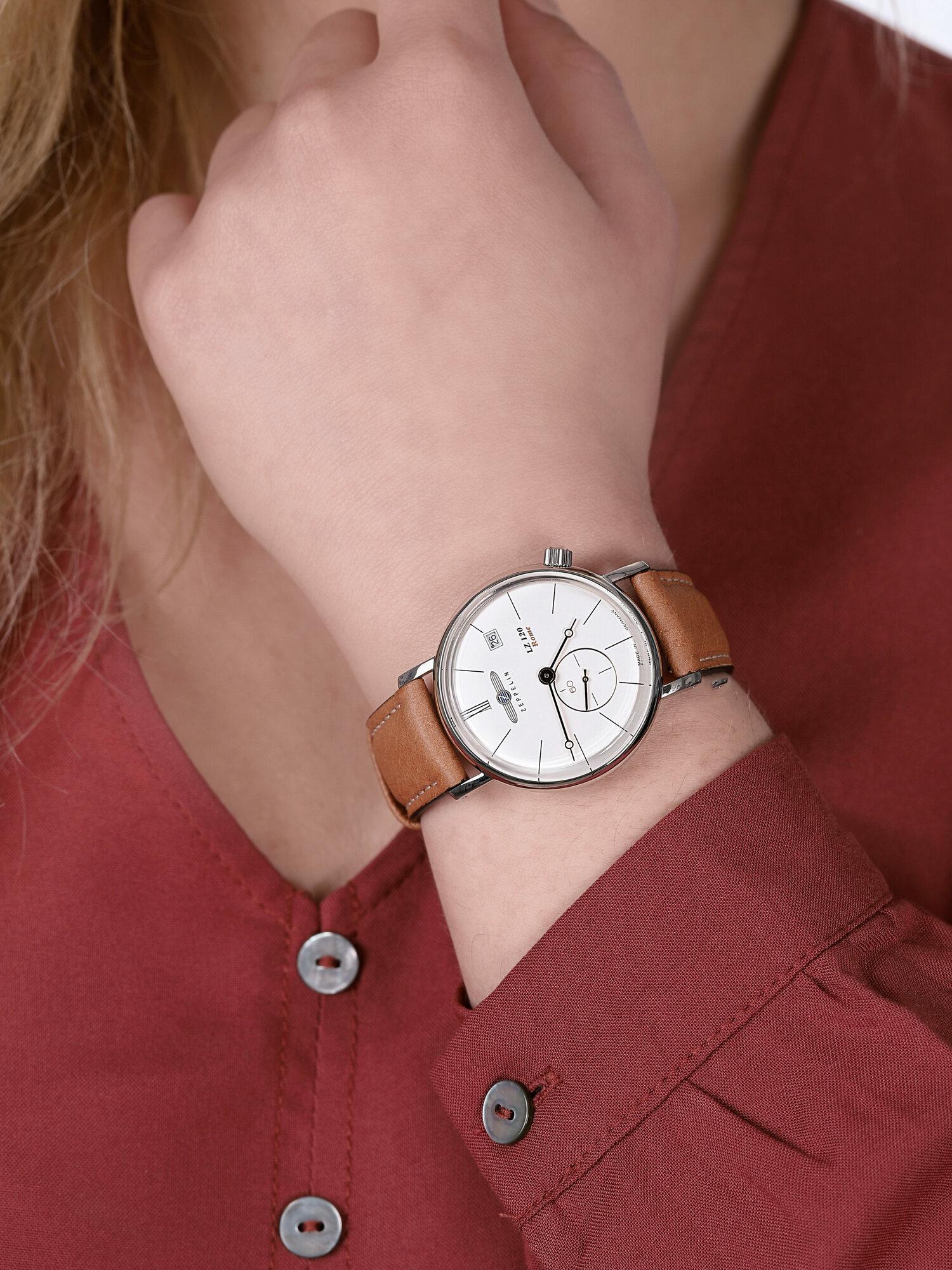 Zeppelin 7139-4 damski zegarek Rome pasek