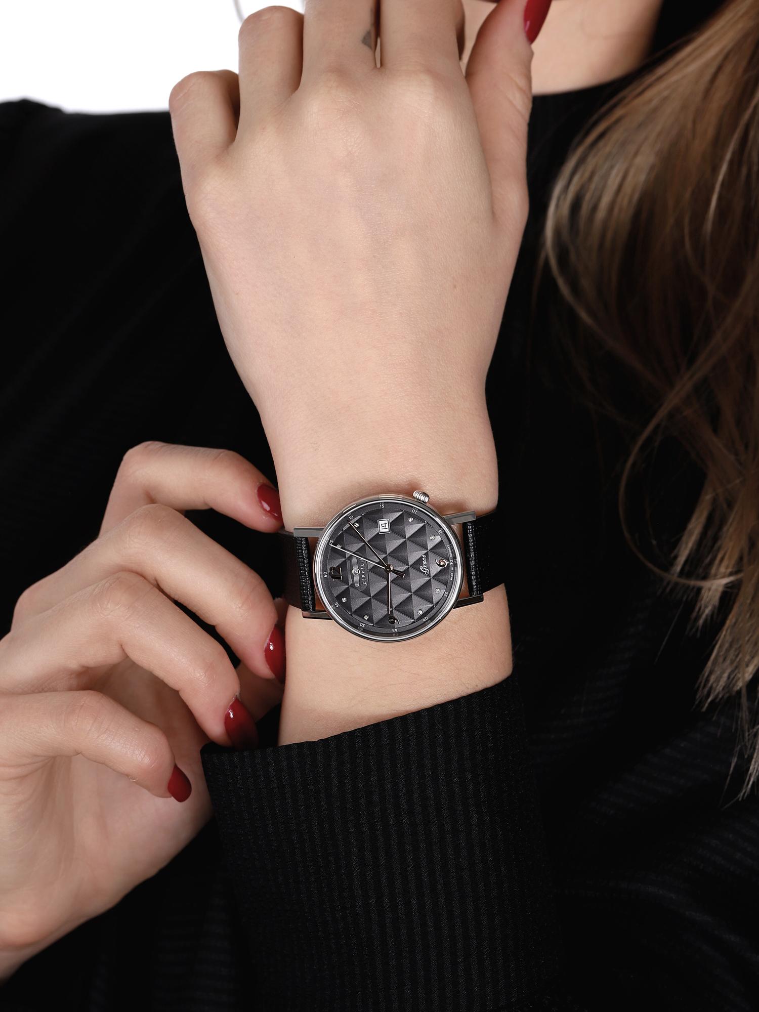 Zeppelin 7441-2 damski zegarek Grace pasek