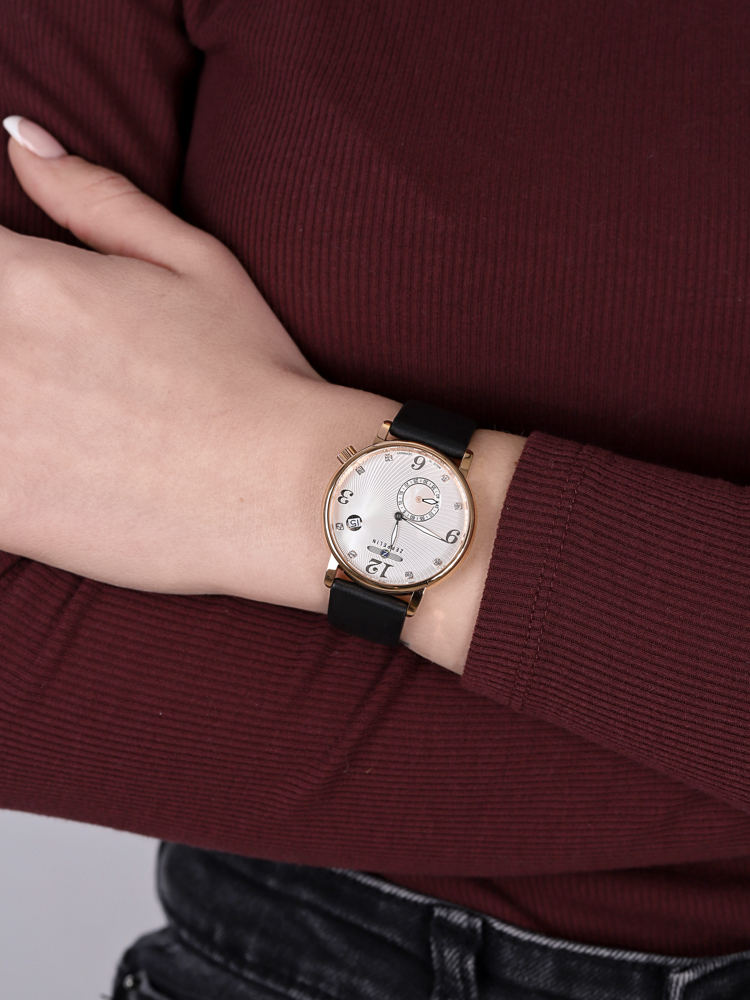 Zeppelin 7633-5 Luna Quarz zegarek klasyczny Luna