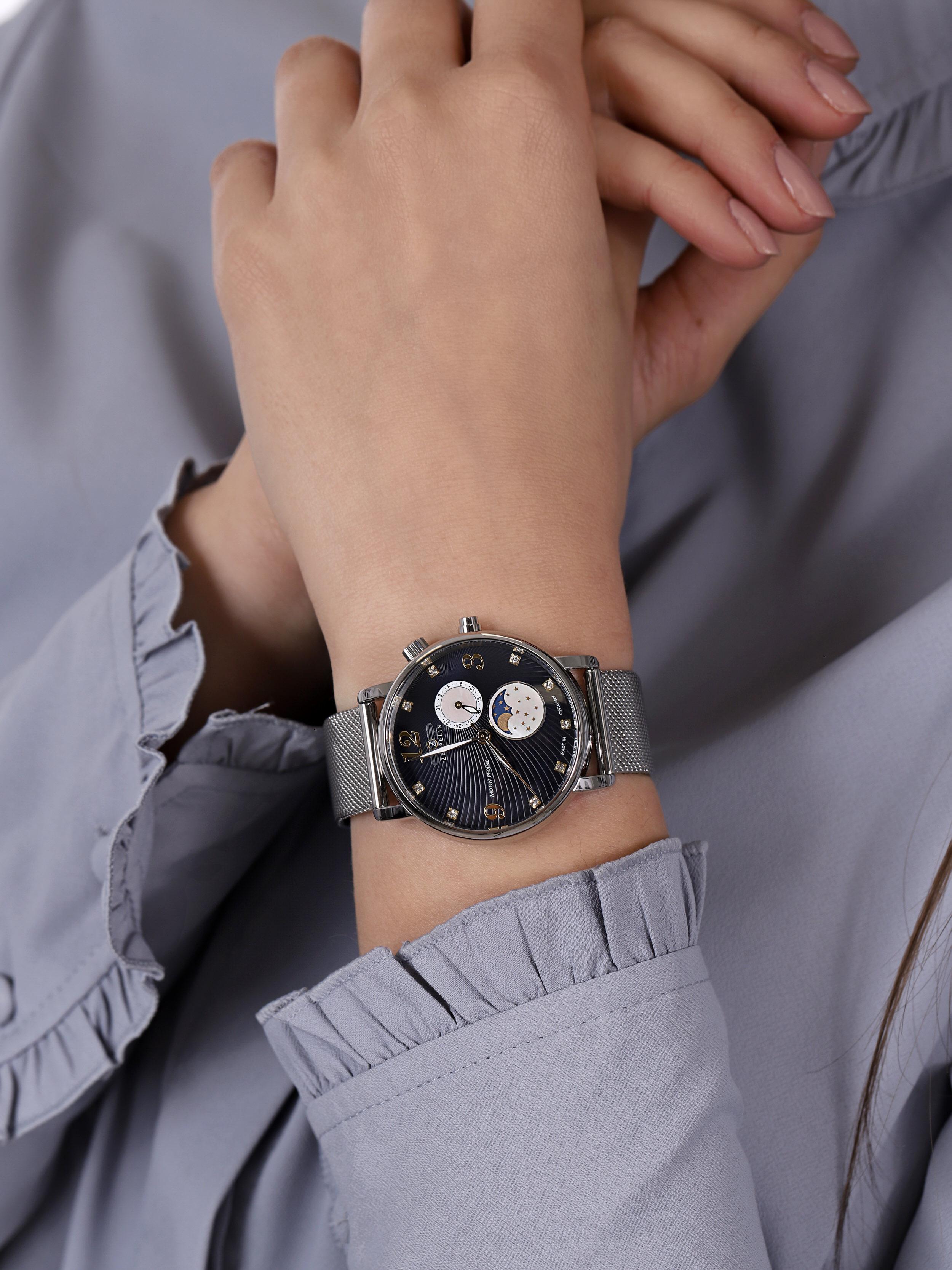 Zeppelin 7637M-3 damski zegarek Luna bransoleta