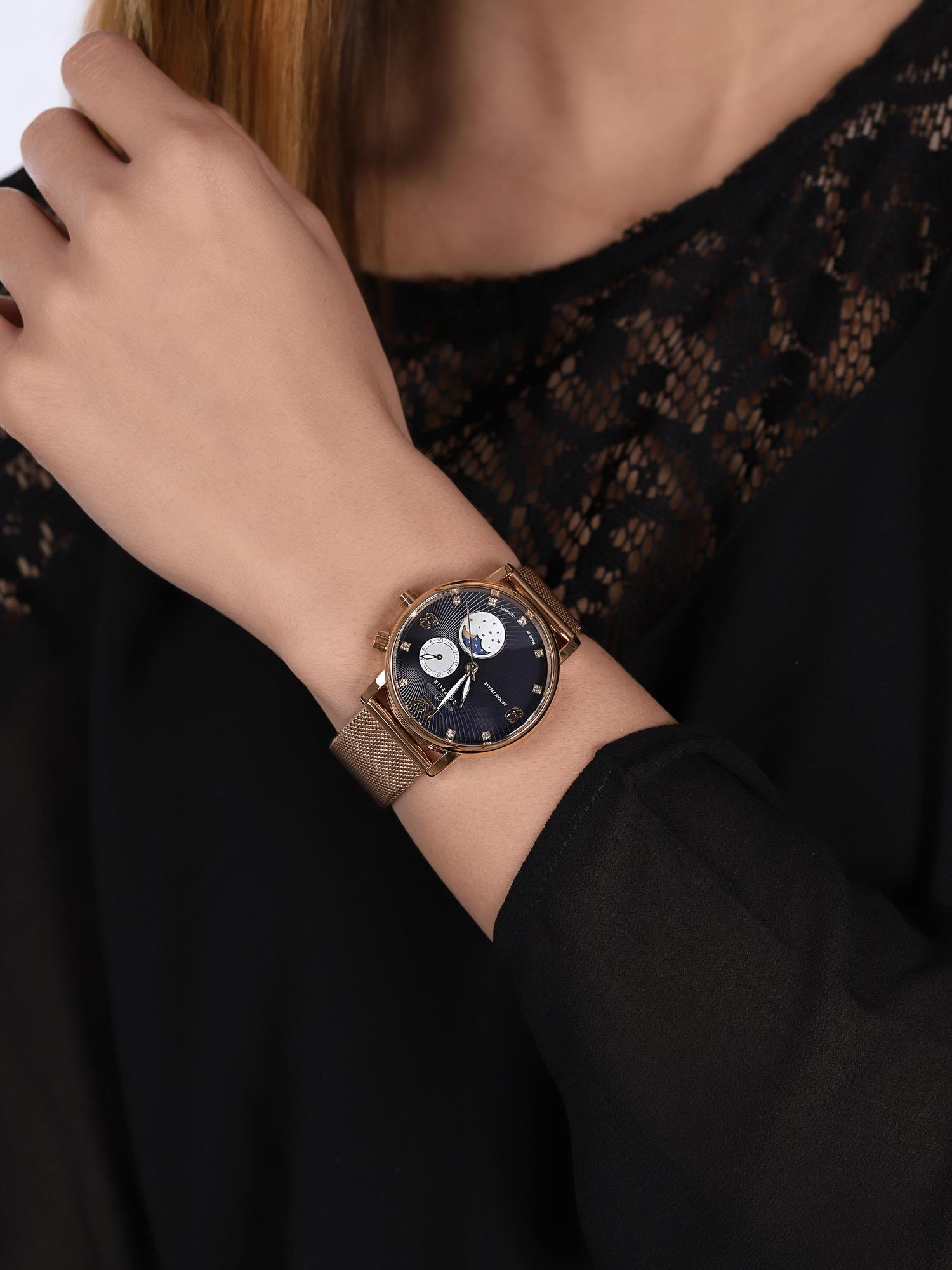 Zeppelin 7639M-3 Luna Quarz zegarek klasyczny Luna