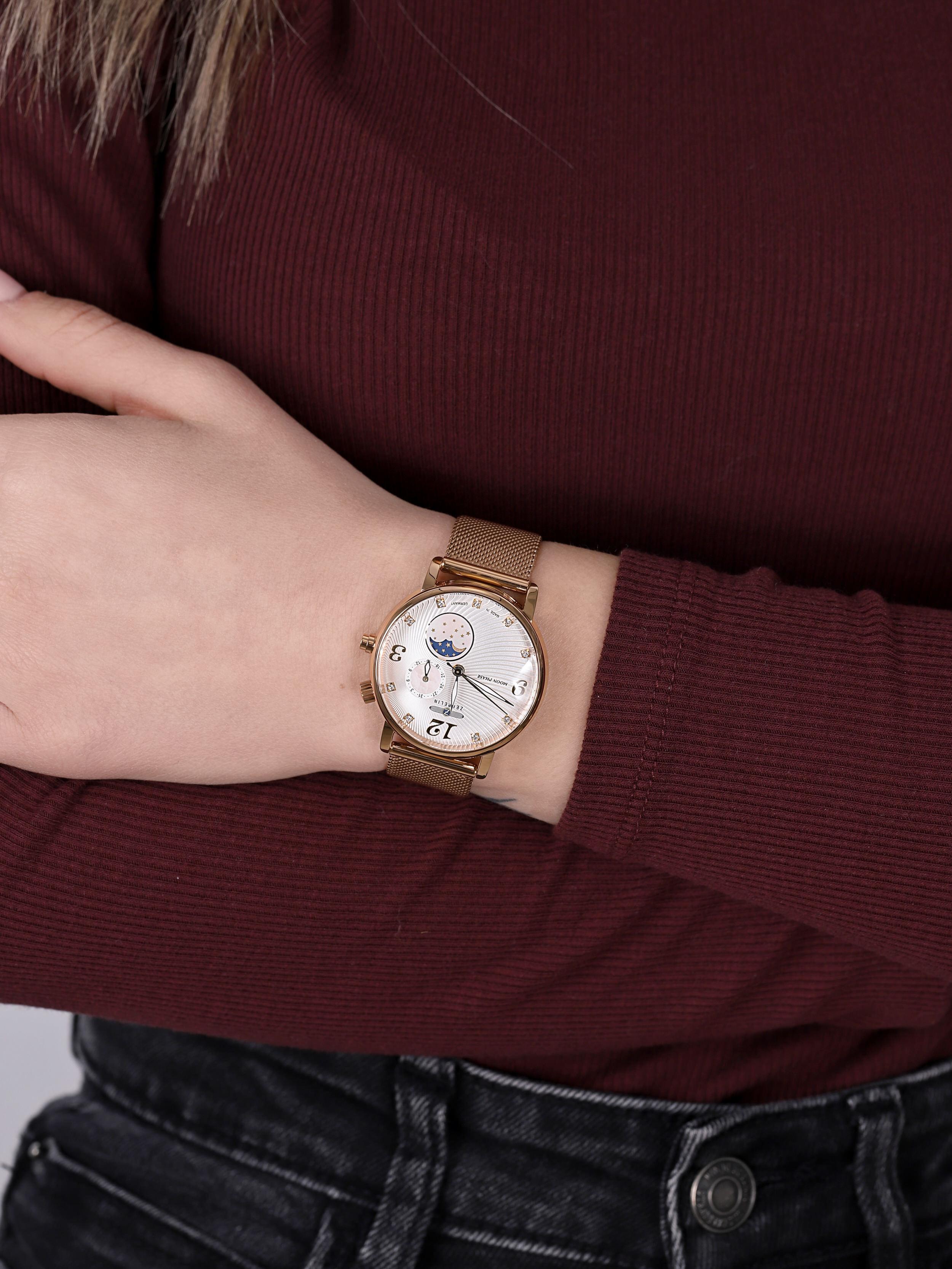 Zeppelin 7639M-4 damski zegarek Luna bransoleta