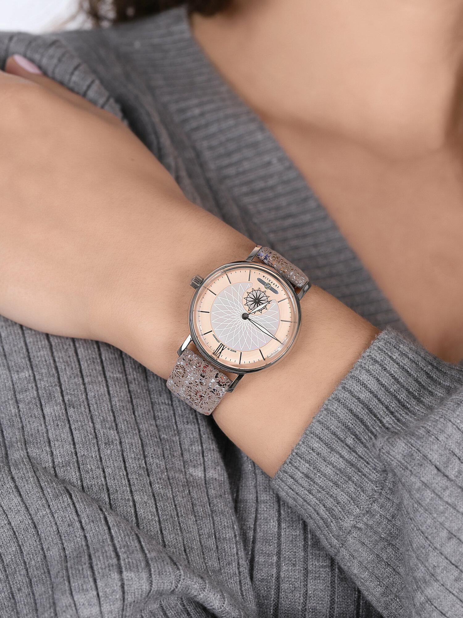 Zeppelin 8131-5 Mandala Quarz zegarek klasyczny Mandala