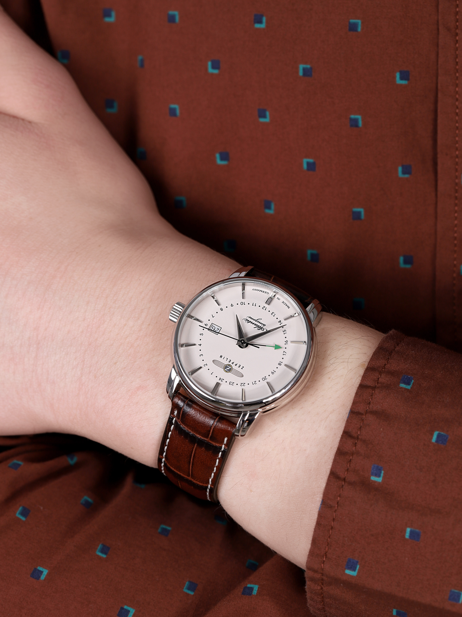 Zeppelin 8442-5 Atlantic Quartz zegarek klasyczny Atlantic