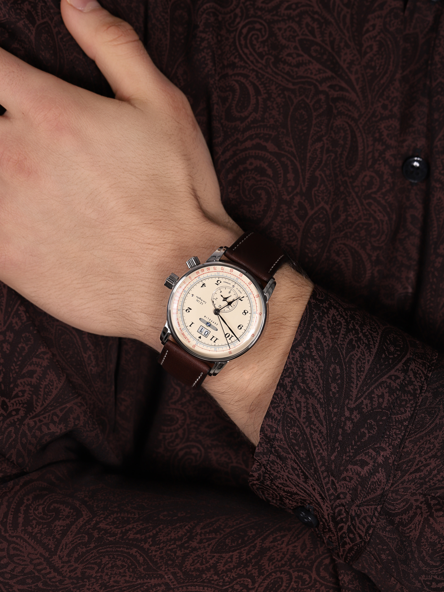 Zeppelin 8644-5 LZ126 Los Angeles Quarz zegarek klasyczny Los Angeles