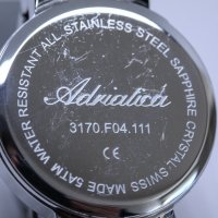 Adriatica A3170.5115Q-POWYSTAWOWY zegarek damski Bransoleta